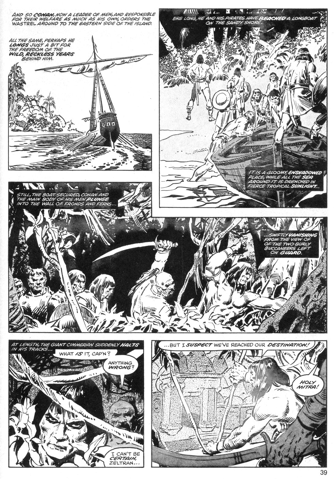 The Savage Sword Of Conan Issue #40 #41 - English 39