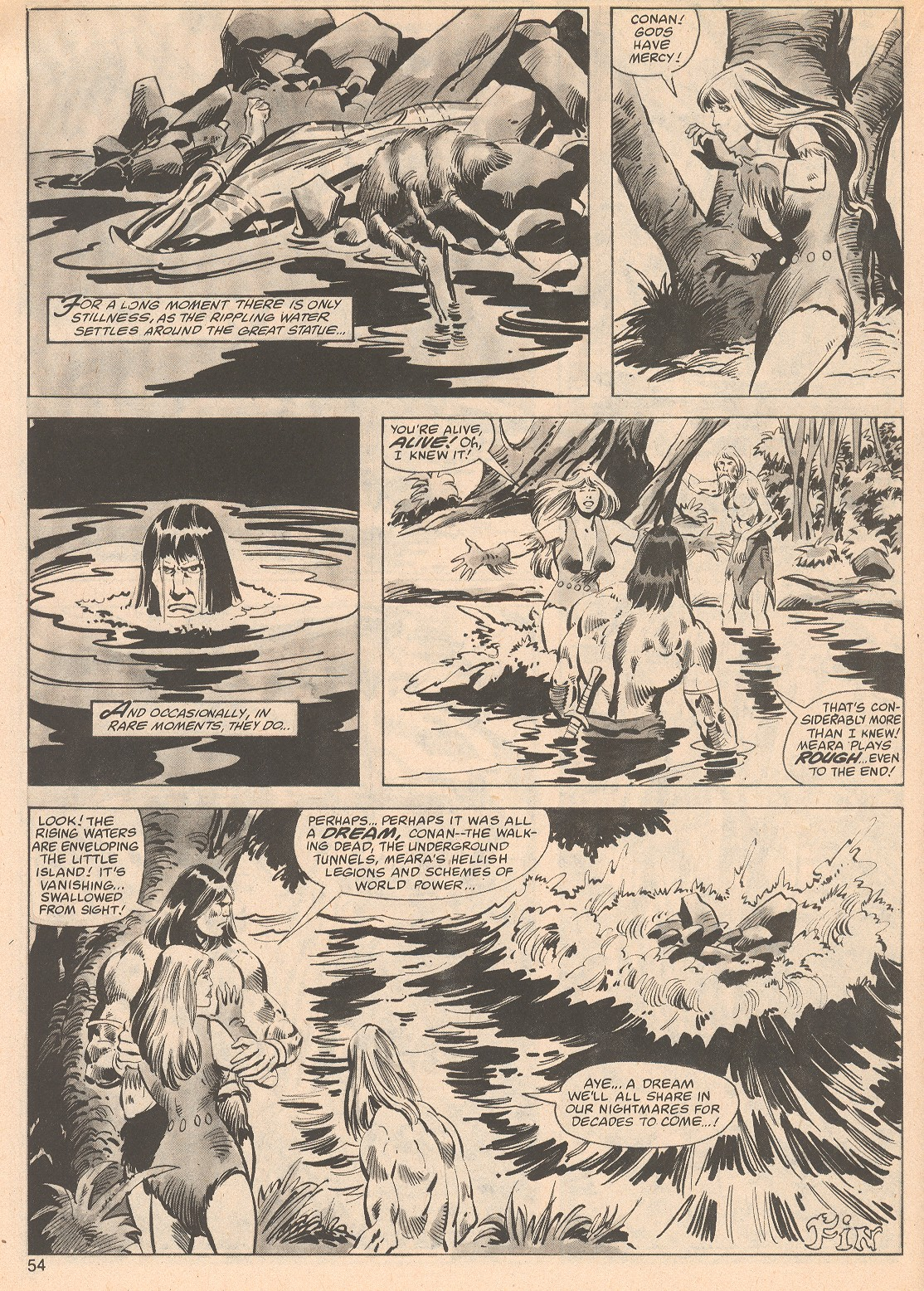 The Savage Sword Of Conan Issue #70 #71 - English 54