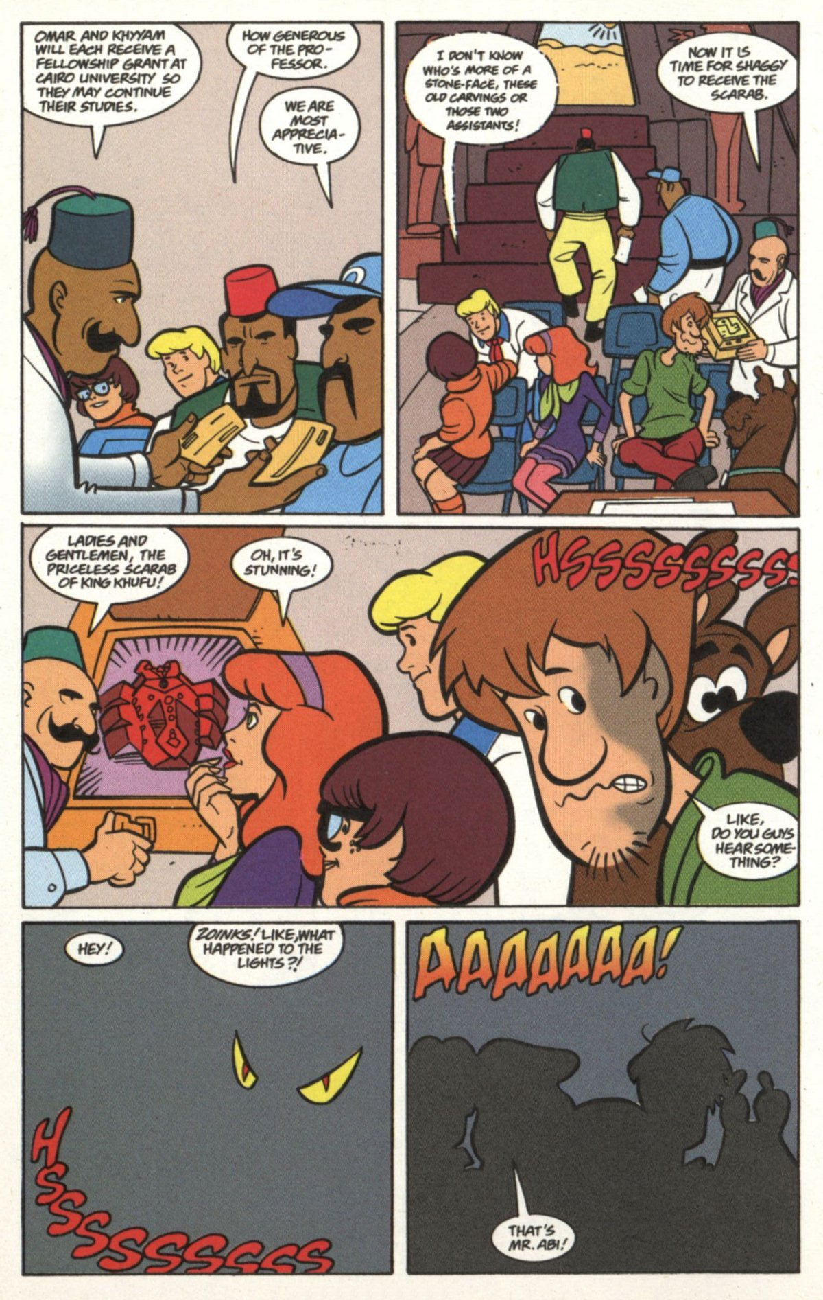 Read online Scooby-Doo (1997) comic -  Issue #19 - 5