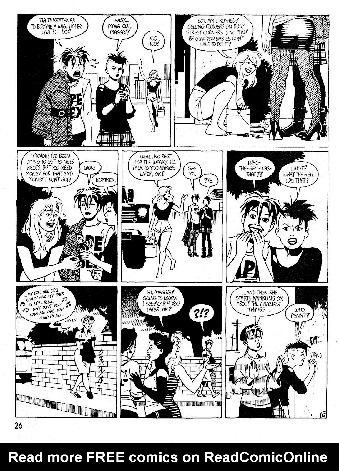 Love and Rockets (1982) Issue #25 #24 - English 30