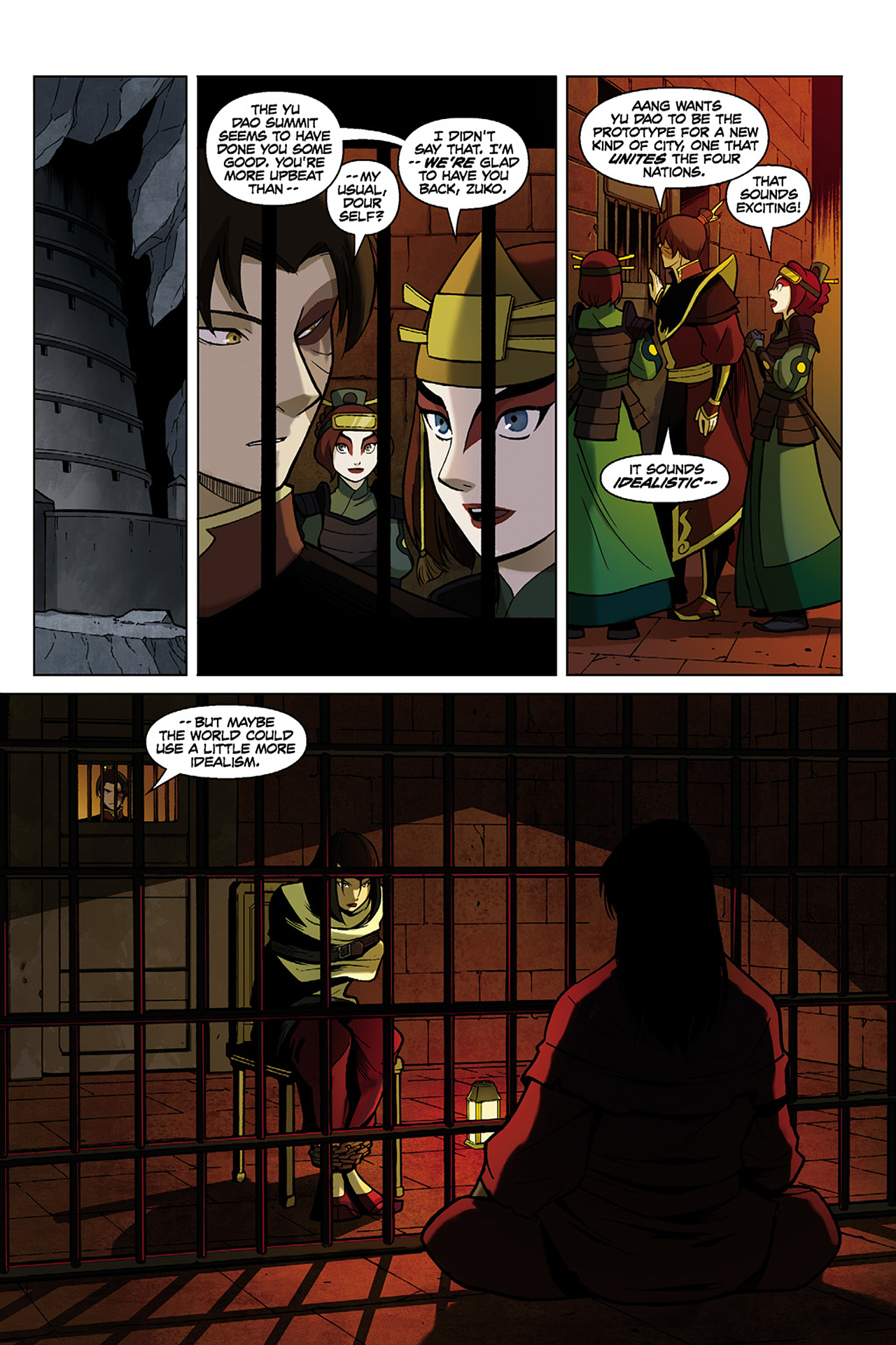 Read online Nickelodeon Avatar: The Last Airbender - The Search comic -  Issue # Part 1 - 17