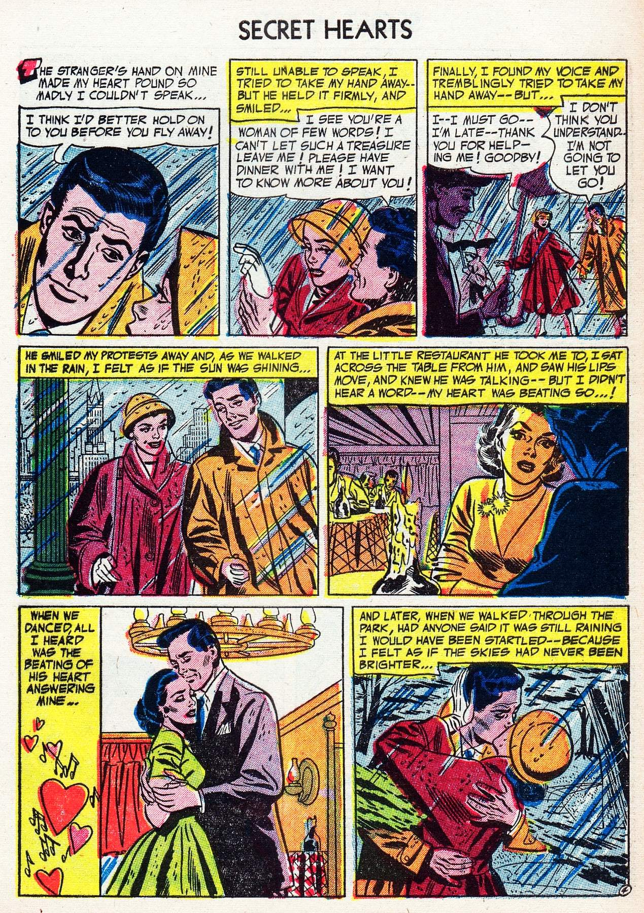 Read online Secret Hearts comic -  Issue #16 - 29