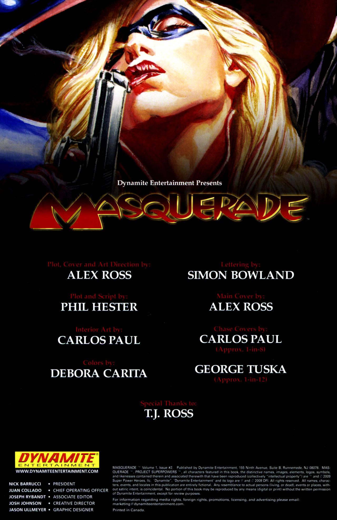 Read online Masquerade comic -  Issue #2 - 5