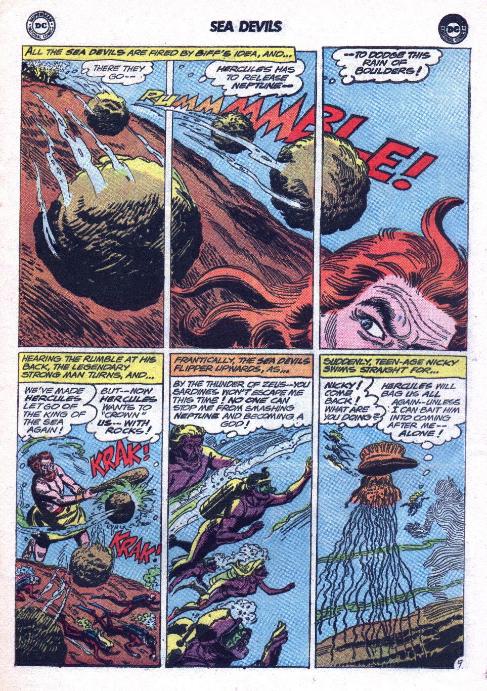 Read online Sea Devils comic -  Issue #14 - 13