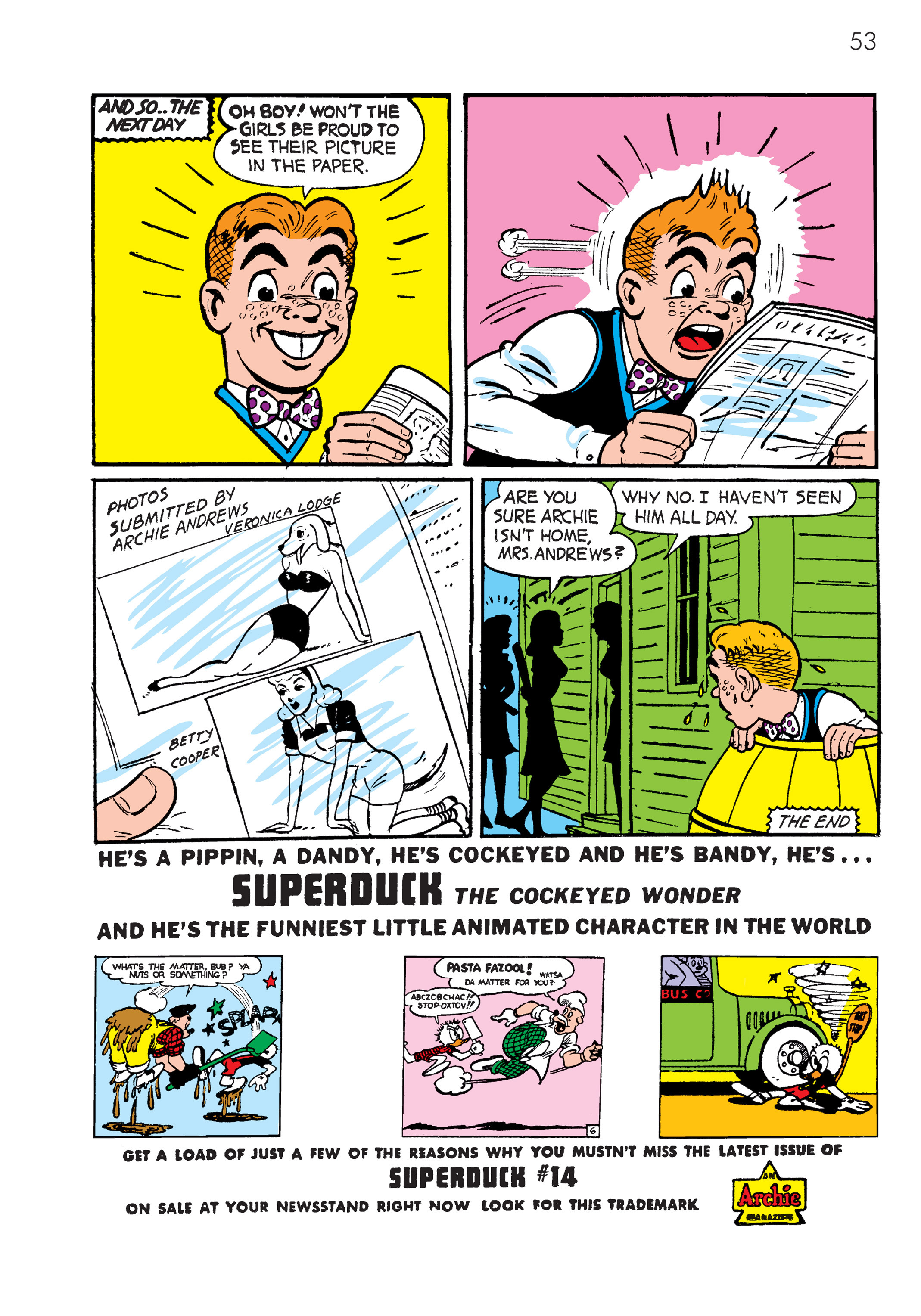 Read online The Best of Archie Comics comic -  Issue # TPB 4 (Part 1) - 54