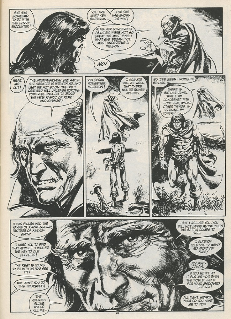 The Savage Sword Of Conan Issue #189 #190 - English 25