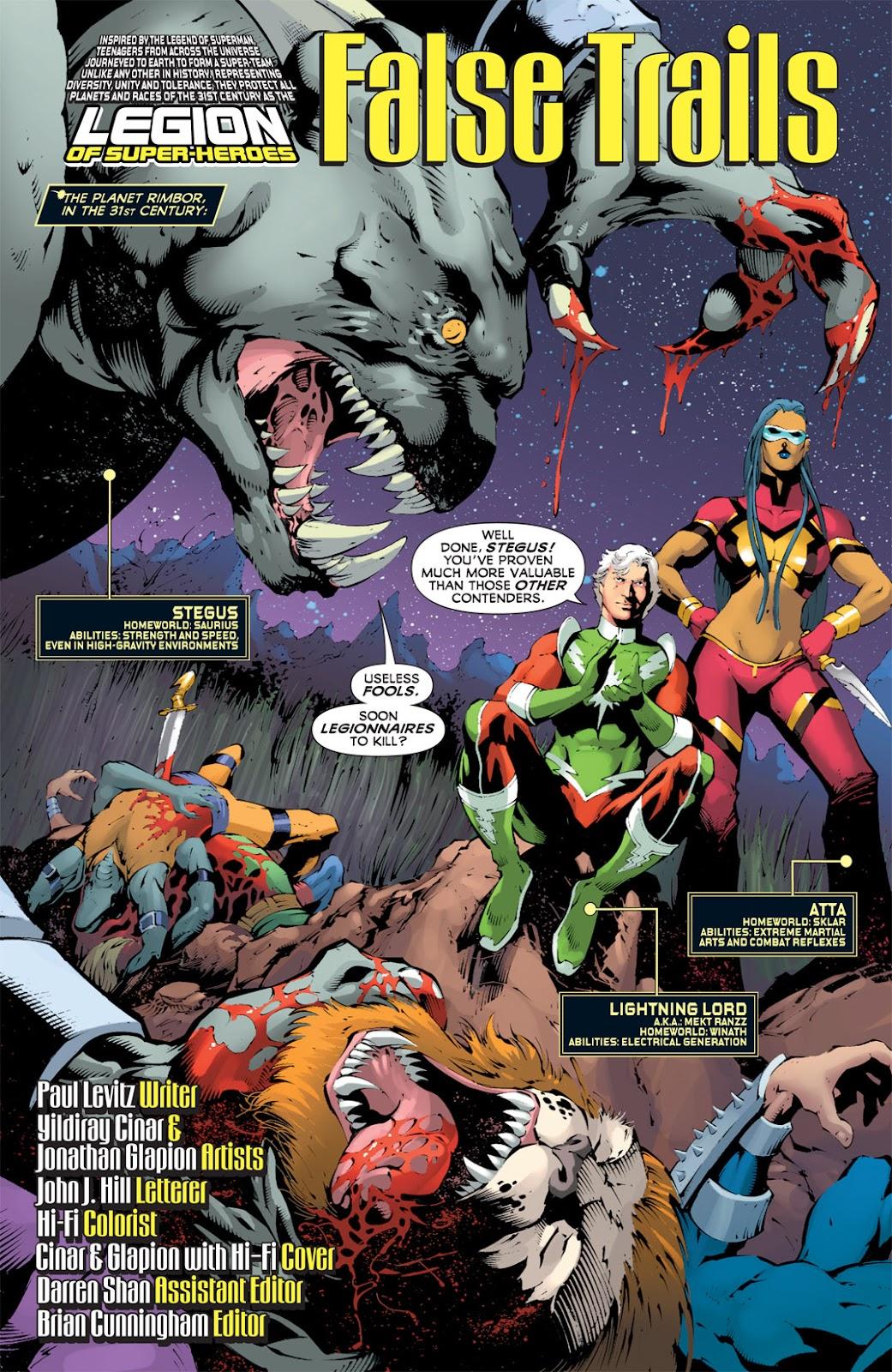Legion of Super-Heroes (2010) Issue #12 #13 - English 2