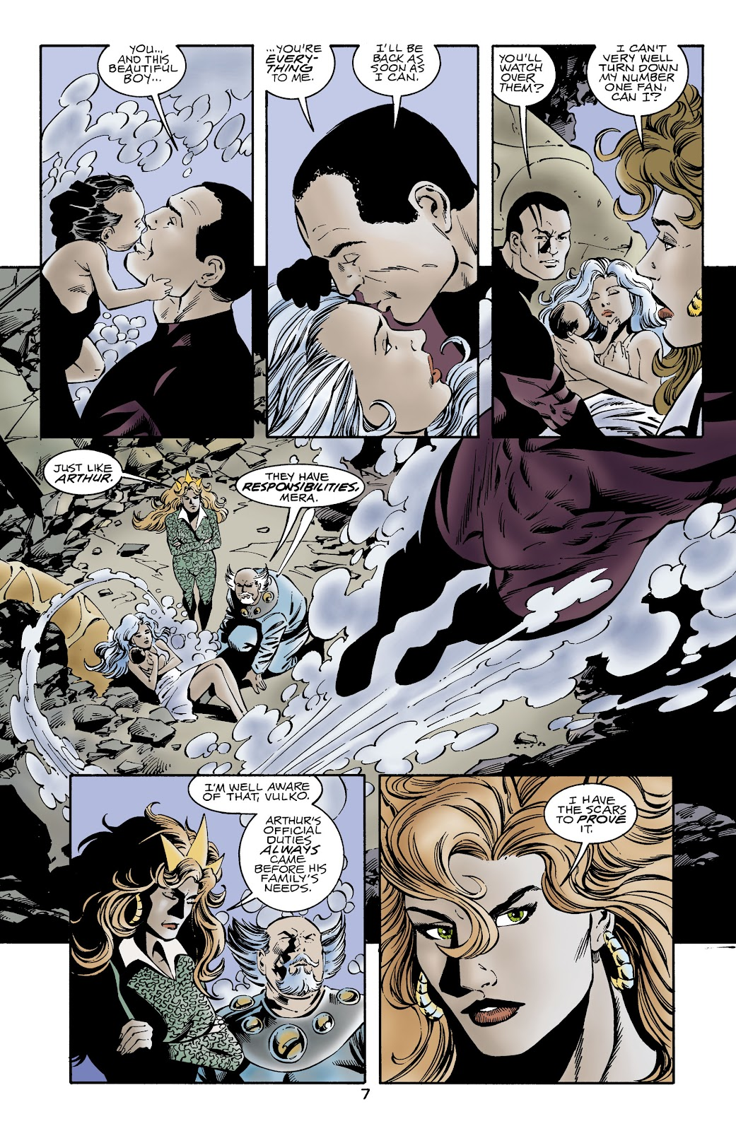 Aquaman (1994) Issue #64 #70 - English 7