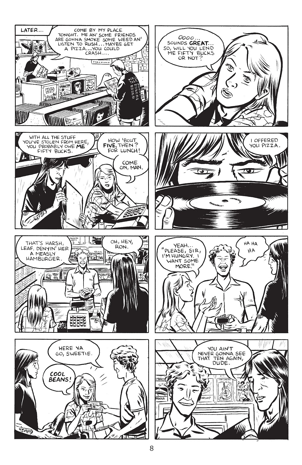 Stray Bullets Issue #25 #25 - English 10