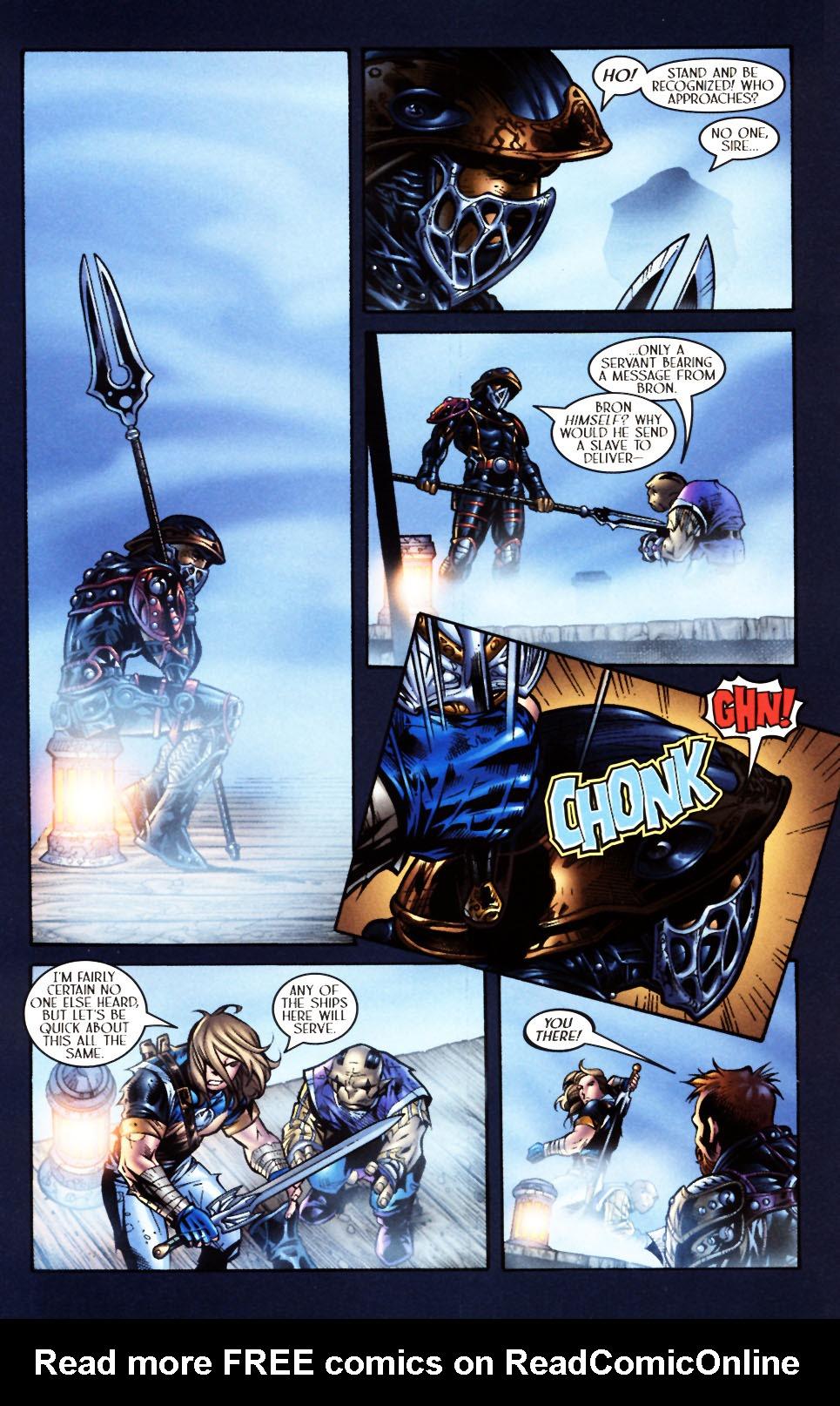 Read online Scion comic -  Issue #4 - 16