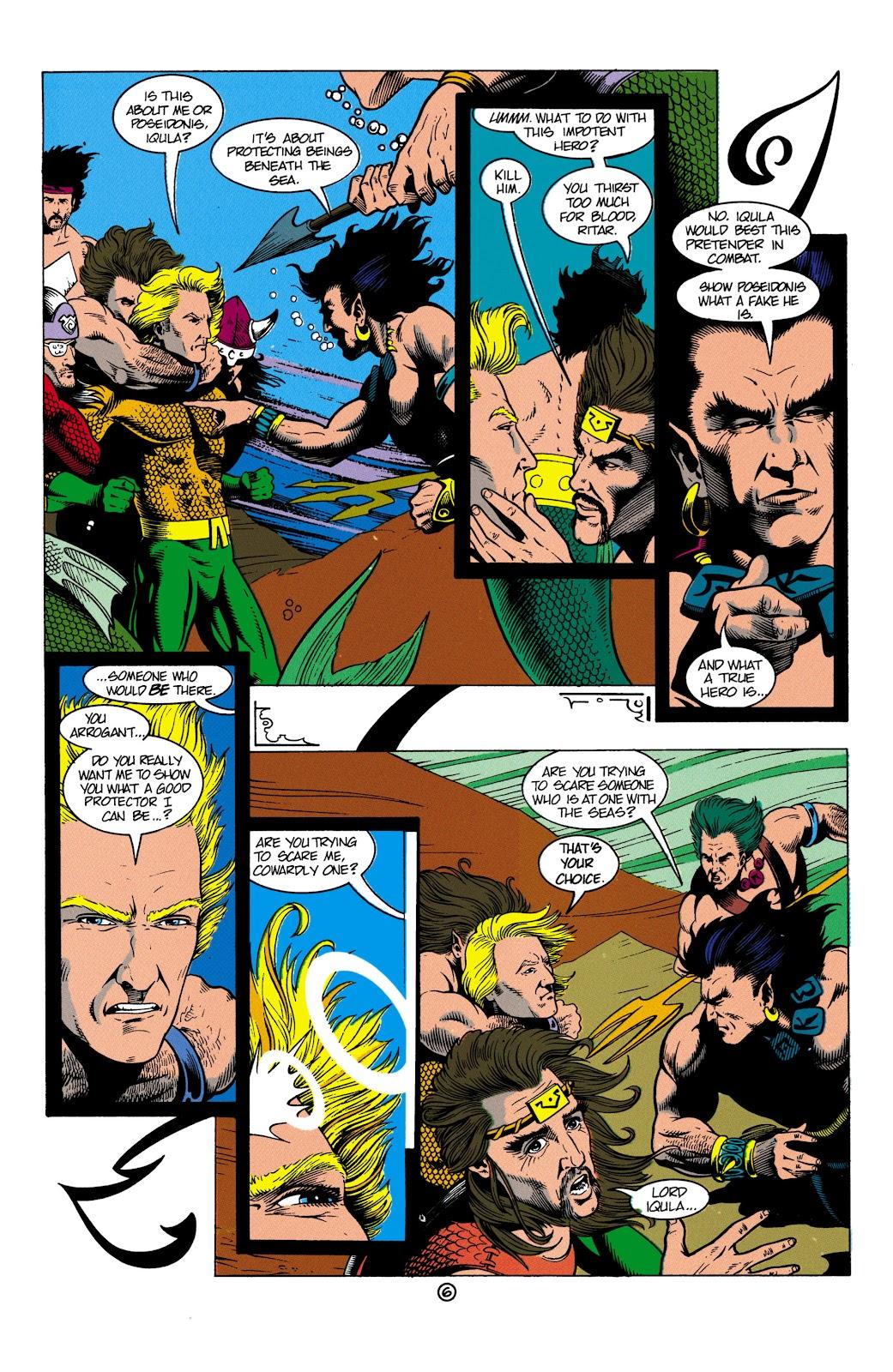 Aquaman (1991) Issue #4 #4 - English 7