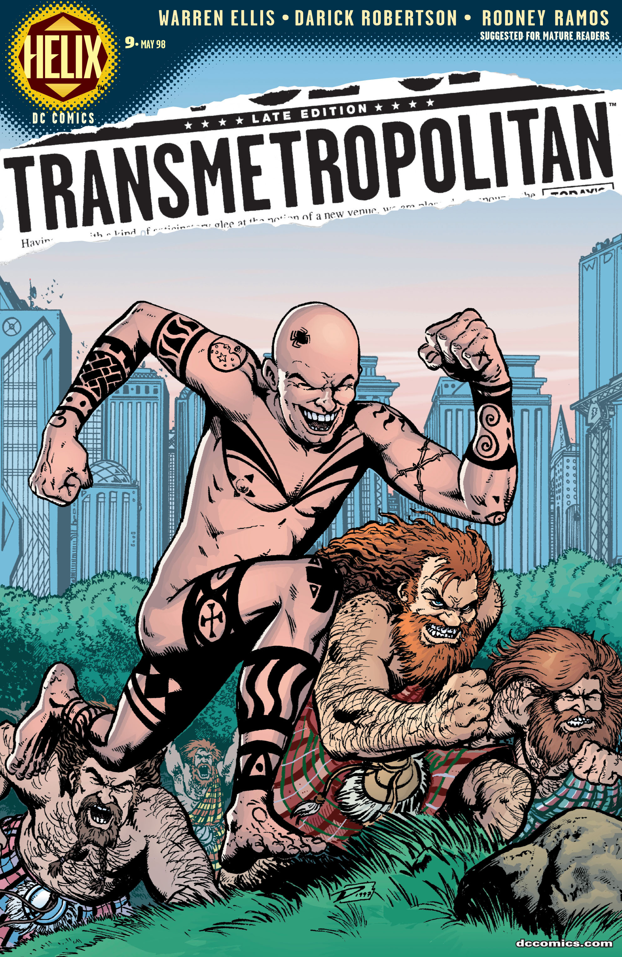 Transmetropolitan issue 9 - Page 1