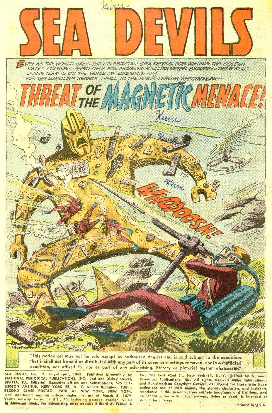Read online Sea Devils comic -  Issue #12 - 3