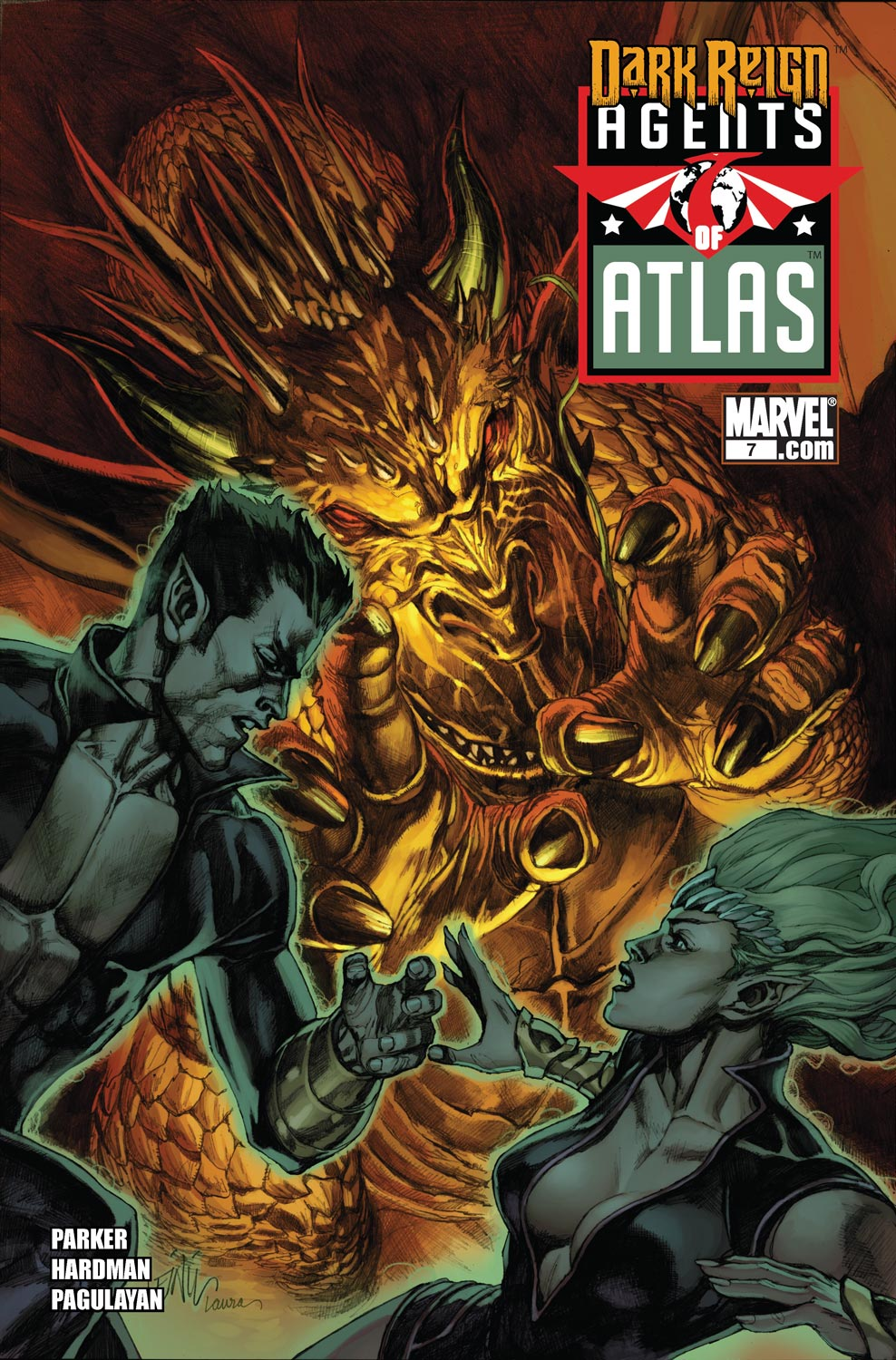 Agents Of Atlas (2009) 7 Page 1