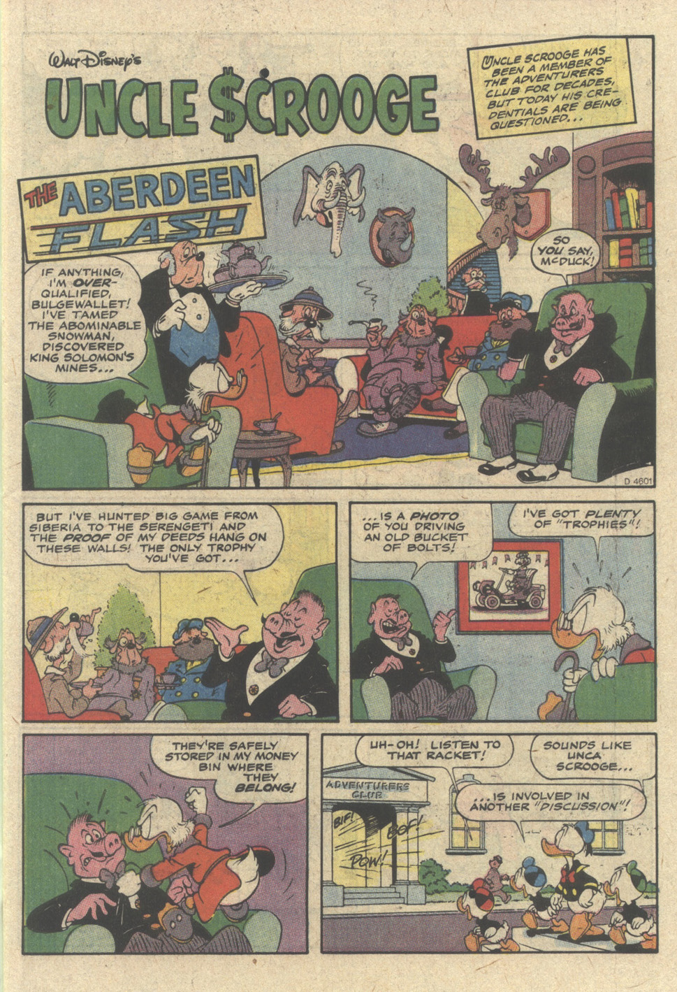 Uncle Scrooge (1953) Issue #239 #239 - English 3