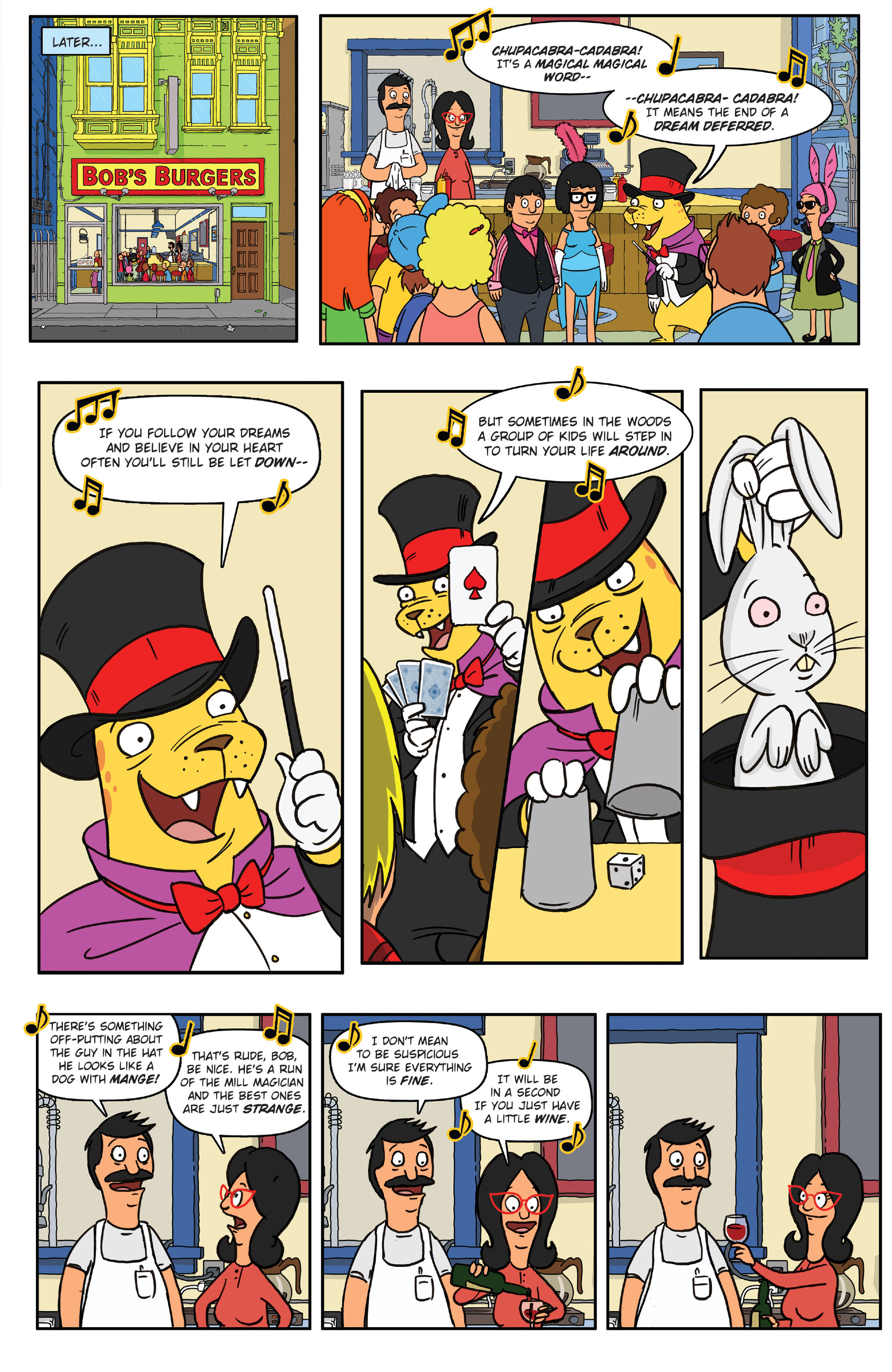 Read online Bob's Burgers (2014) comic -  Issue #4 - 23