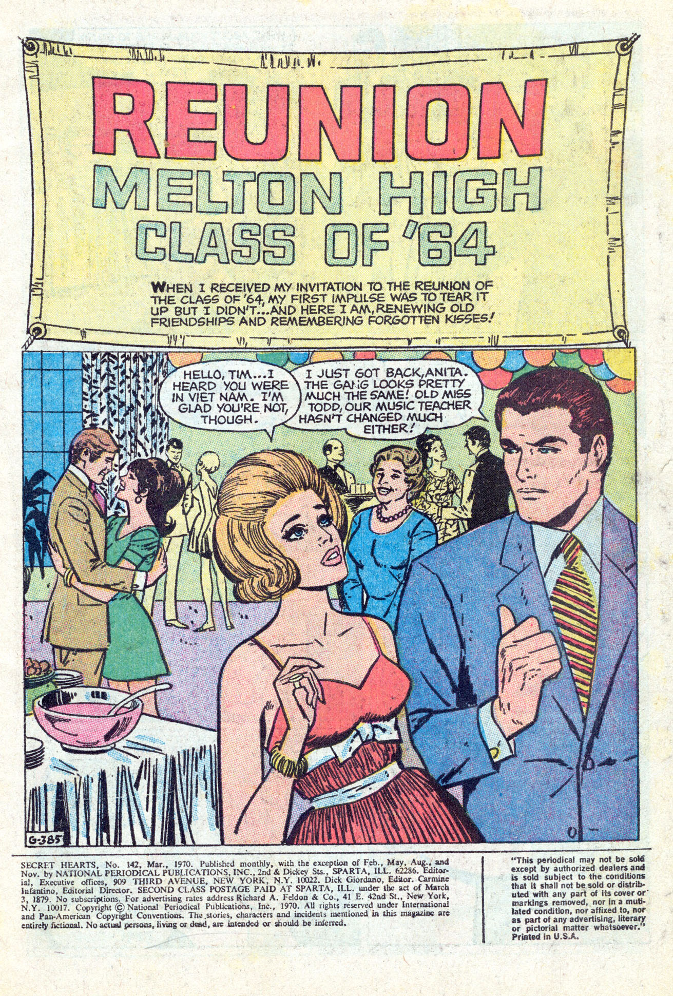 Read online Secret Hearts comic -  Issue #142 - 3