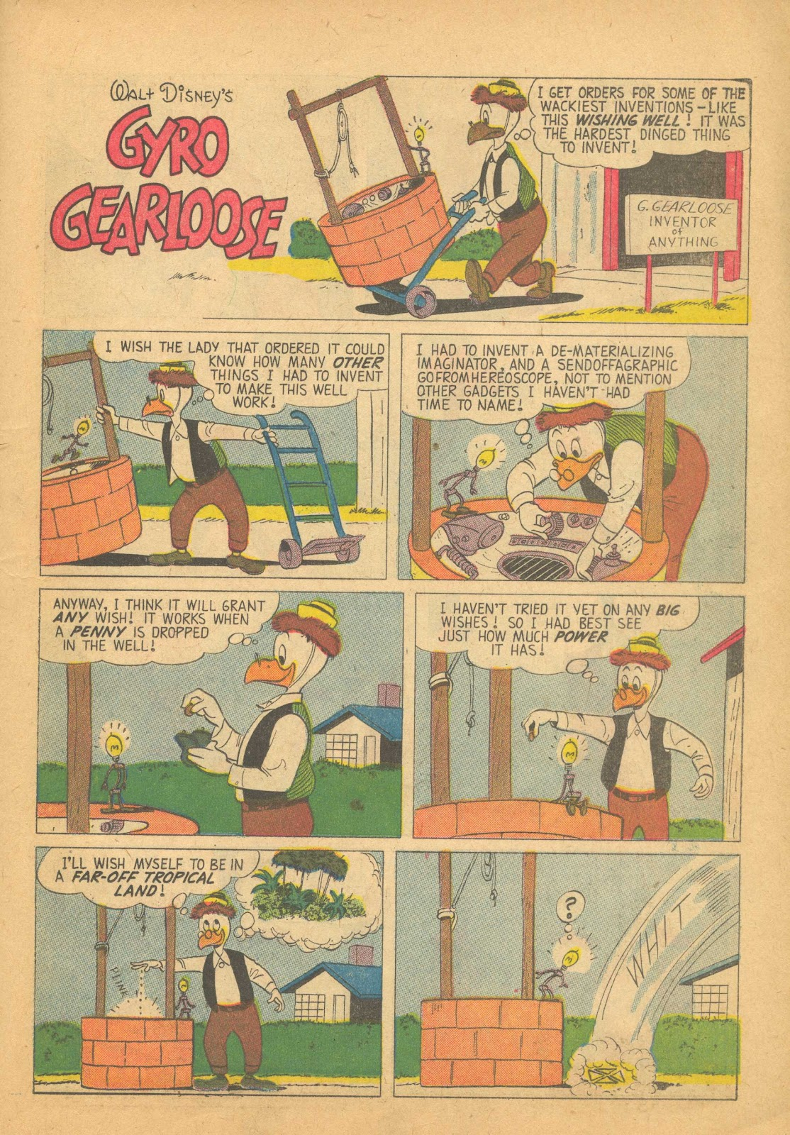 Uncle Scrooge (1953) Issue #25 #25 - English 23