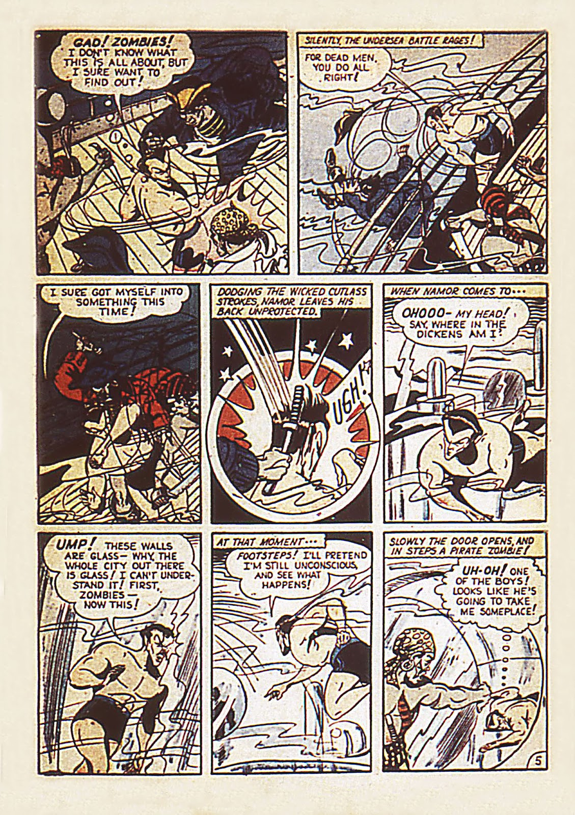 Sub-Mariner Comics Issue #7 #7 - English 7