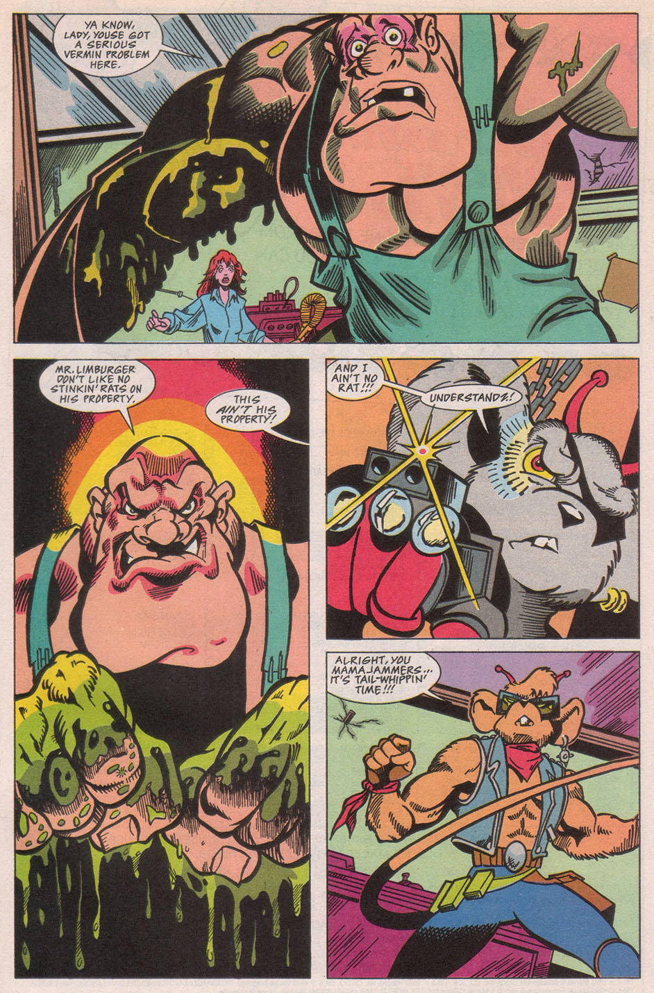 Biker Mice from Mars 1 Page 25