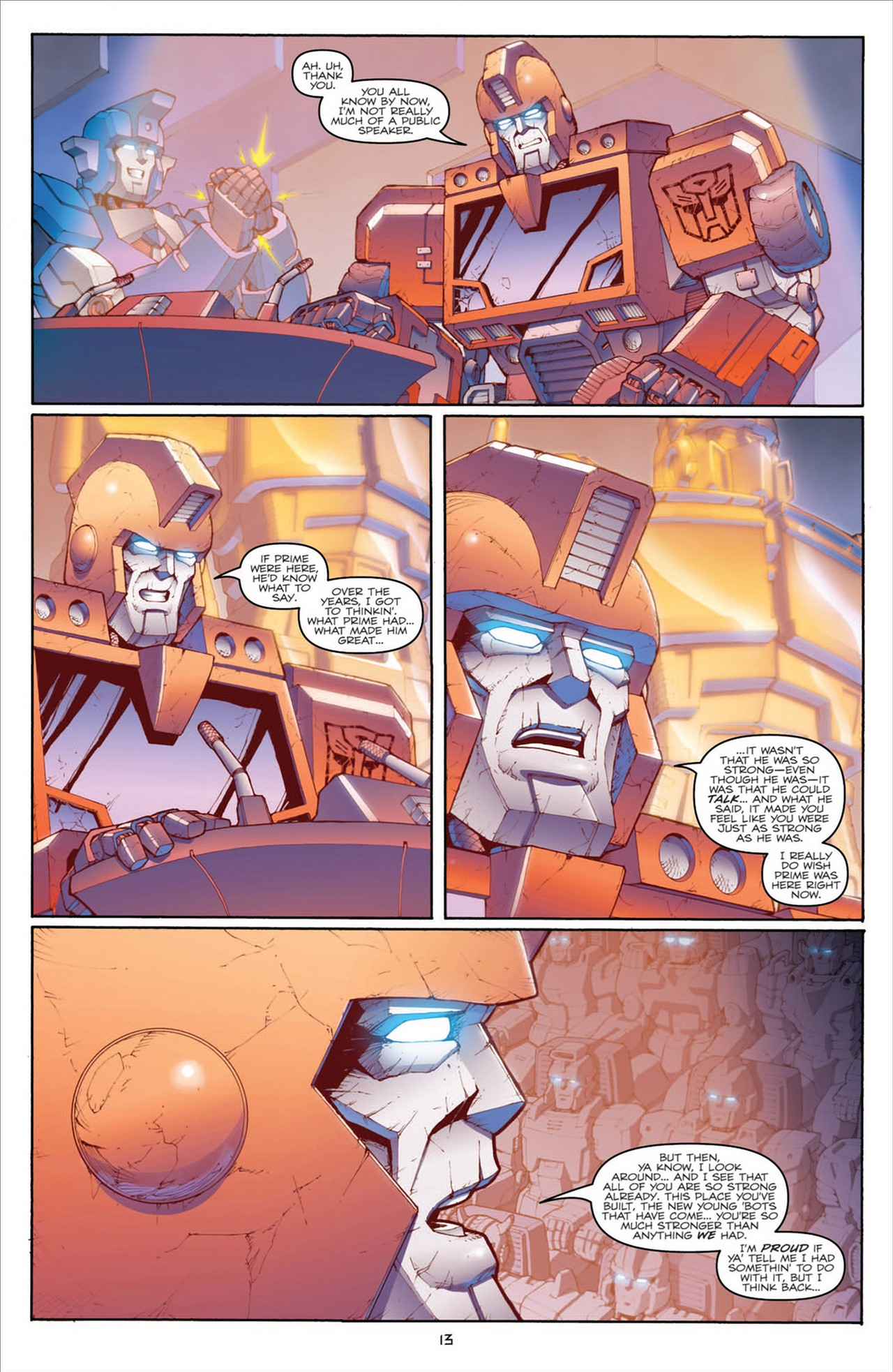 The Transformers (2009) chap 31 pic 17