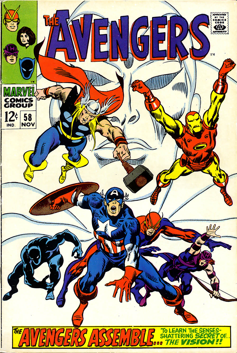 The Avengers (1963) 58 Page 1