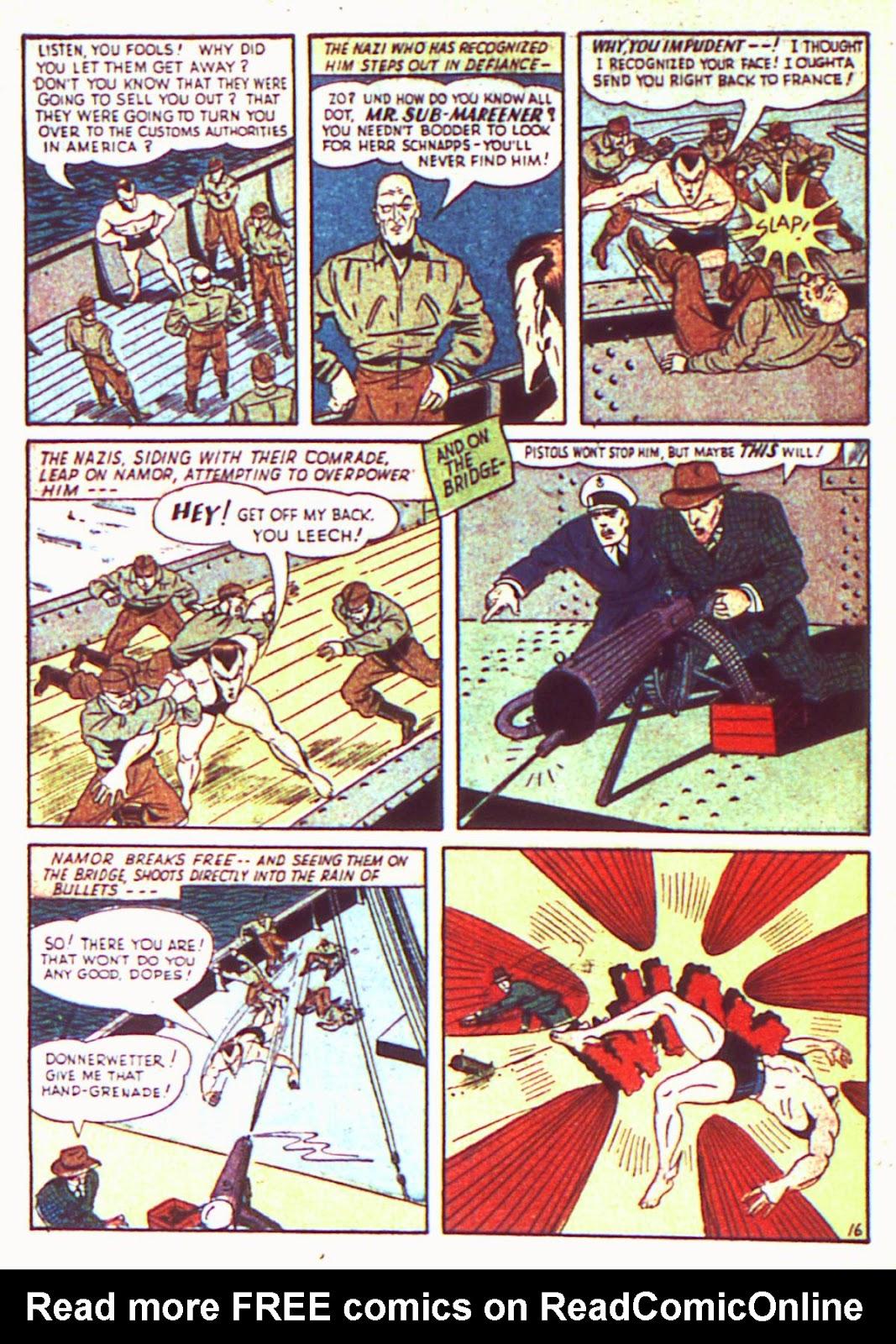 Sub-Mariner Comics Issue #2 #2 - English 18