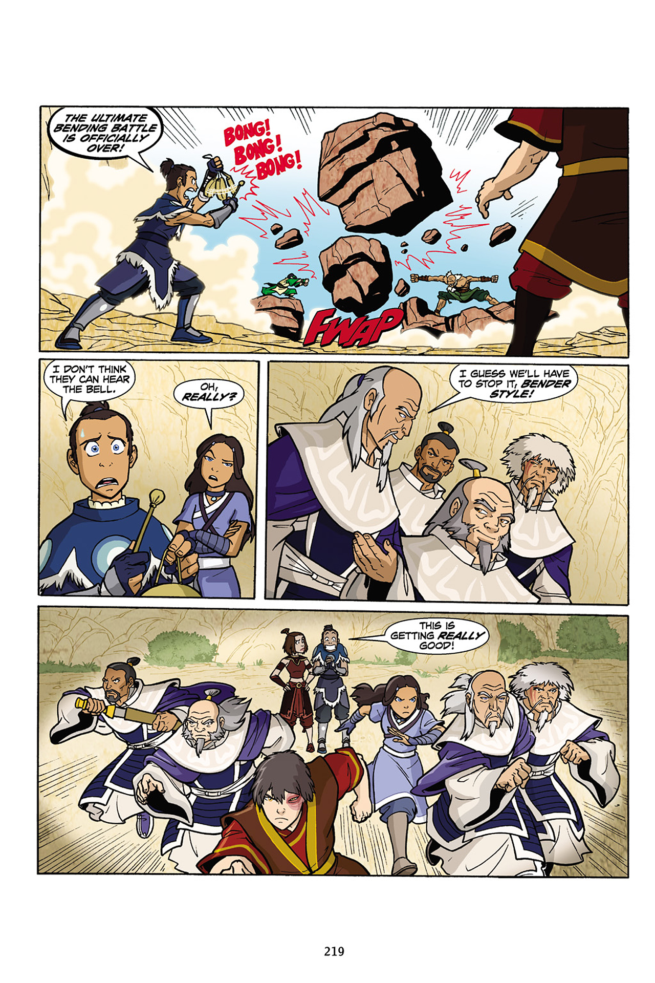 Nickelodeon Avatar: The Last Airbender - The Lost Adventures chap full pic 220