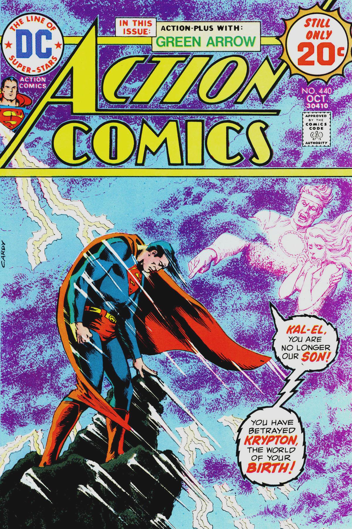 Action Comics (1938) 440 Page 1