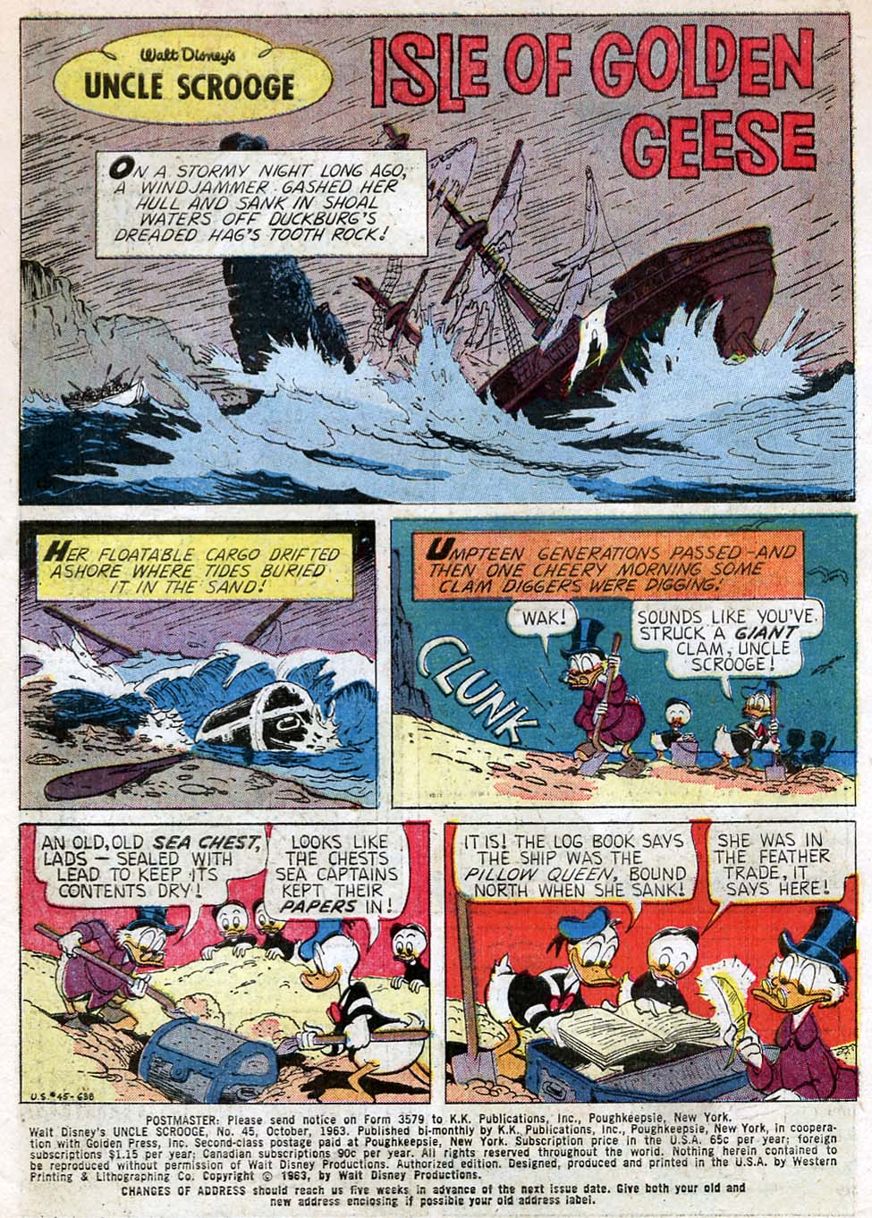 Uncle Scrooge (1953) Issue #45 #45 - English 3