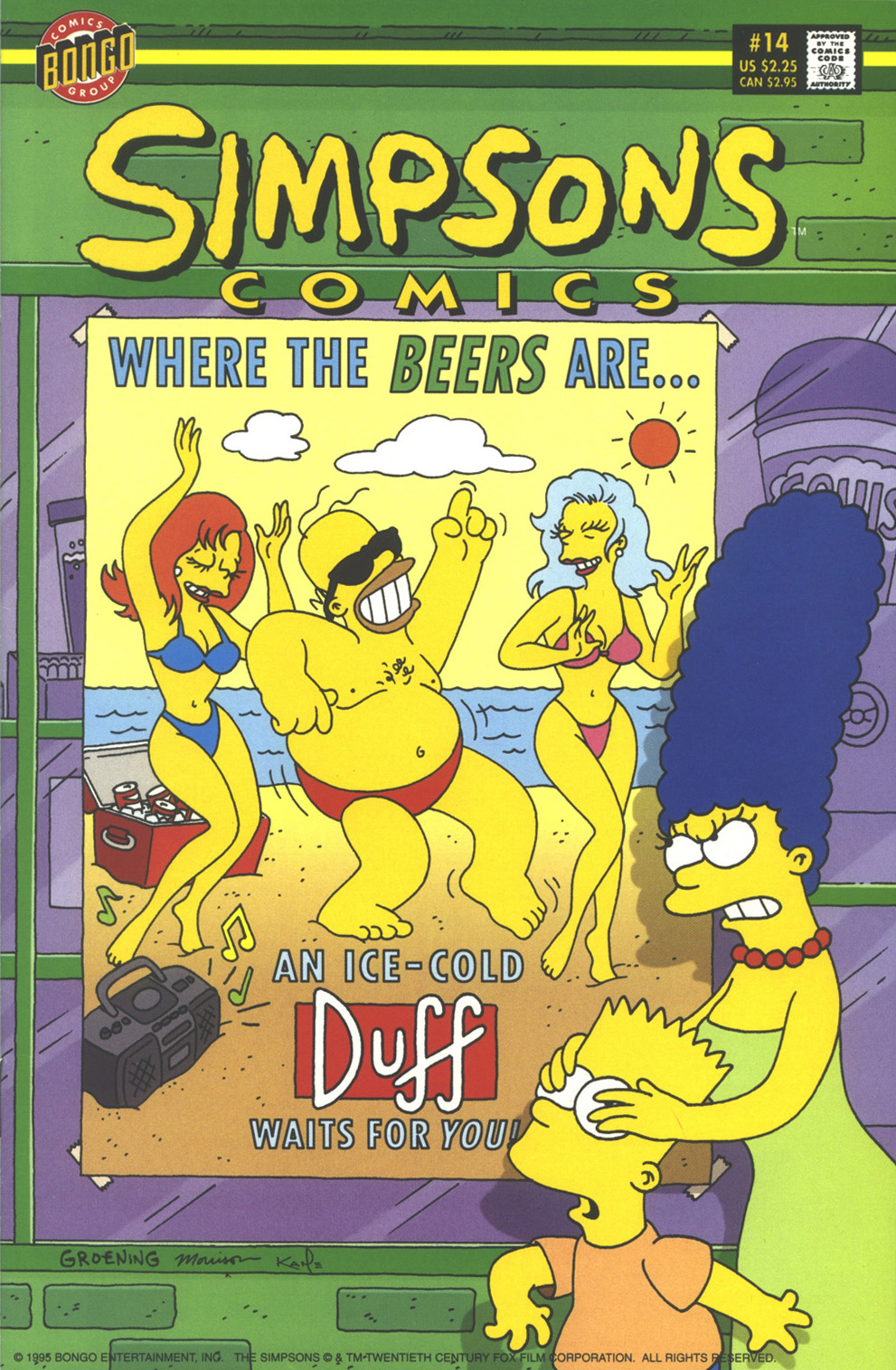 Read online Simpsons Comics comic -  Issue #14 - 1