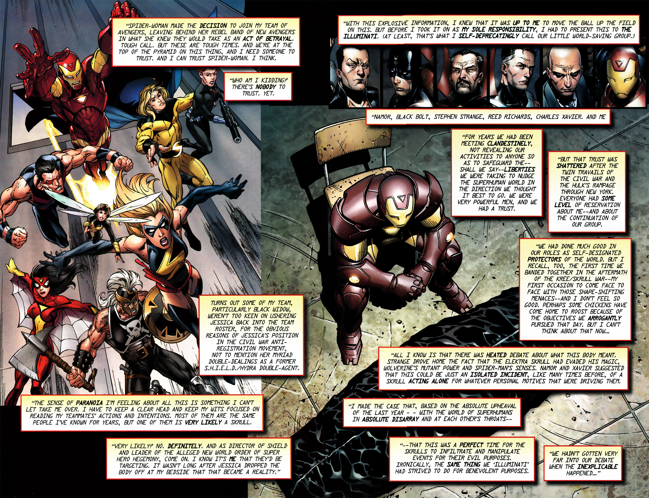 Read online Secret Invasion Saga comic -  Issue # Full - 6