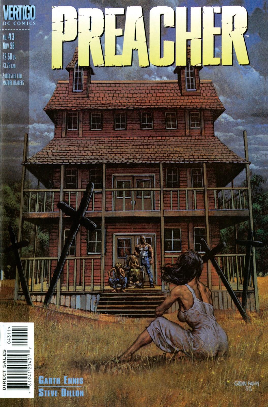 Preacher Issue #43 #52 - English 1