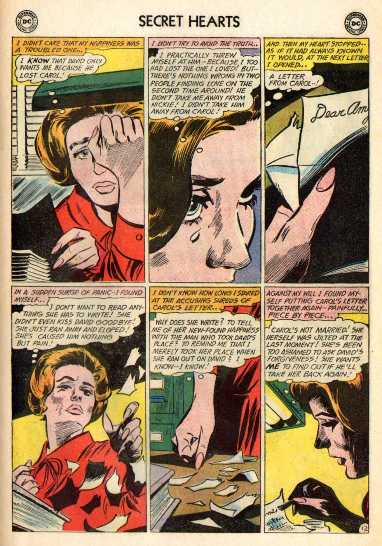 Read online Secret Hearts comic -  Issue #98 - 31