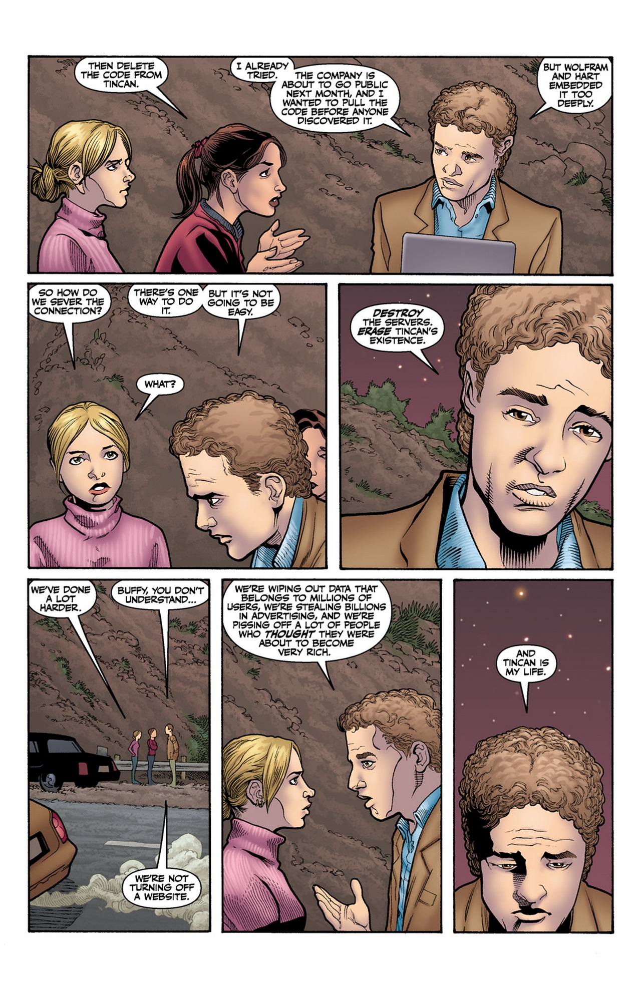Read online Buffy the Vampire Slayer Season Nine comic -  Issue #12 - 7