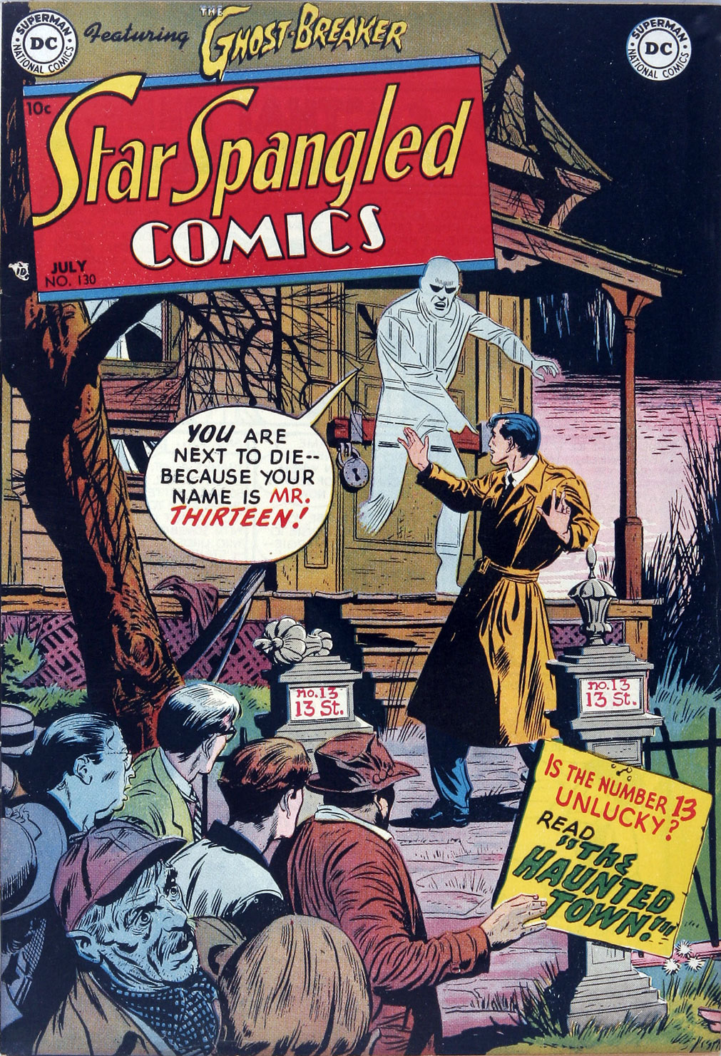 Star Spangled Comics (1941) 130 Page 1
