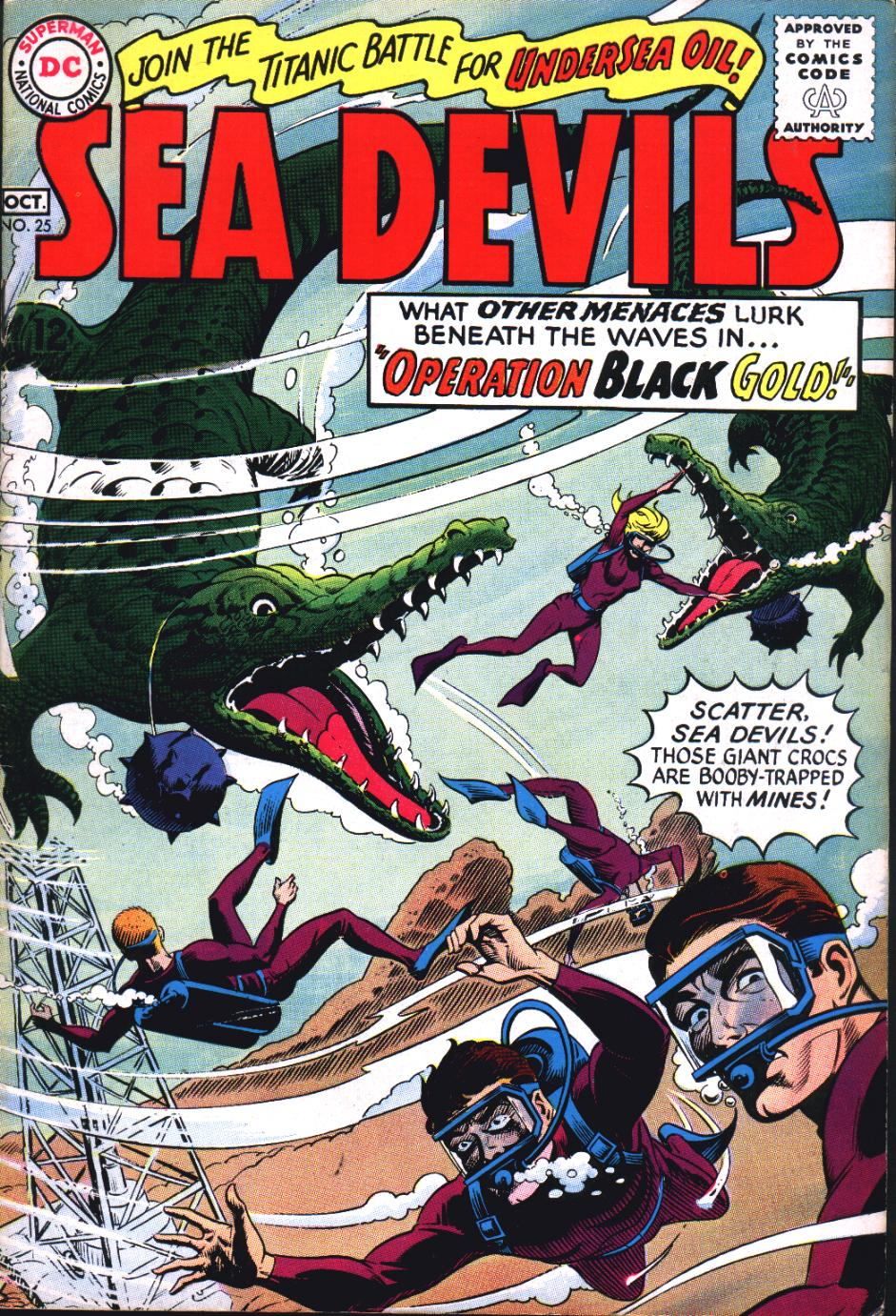 Read online Sea Devils comic -  Issue #25 - 2