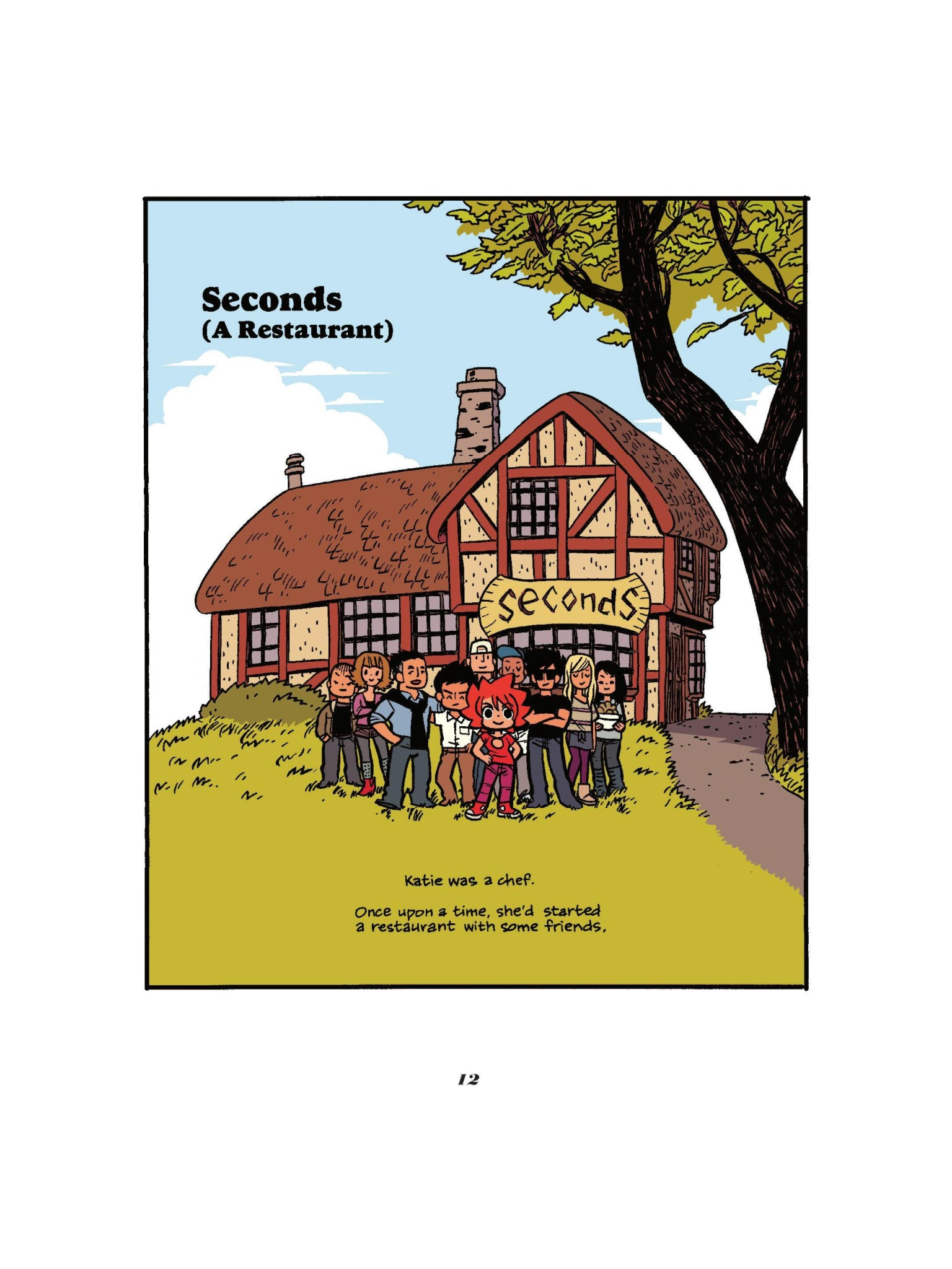 Read online Seconds comic -  Issue # Full - 14