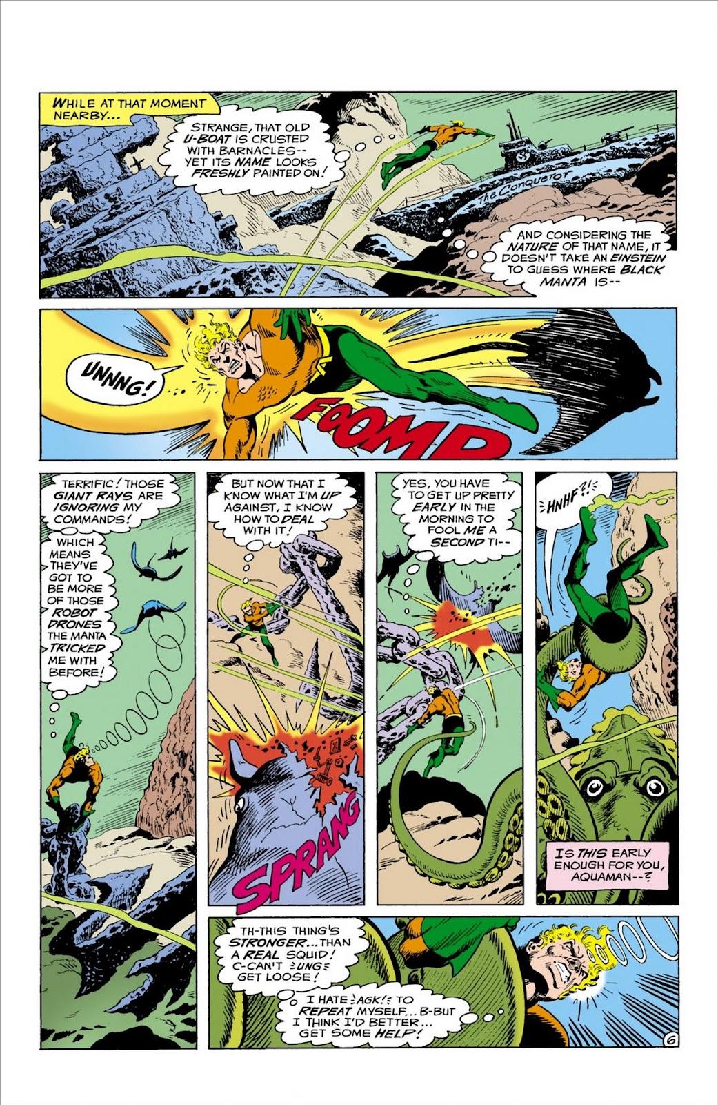 Aquaman (1962) Issue #57 #57 - English 7
