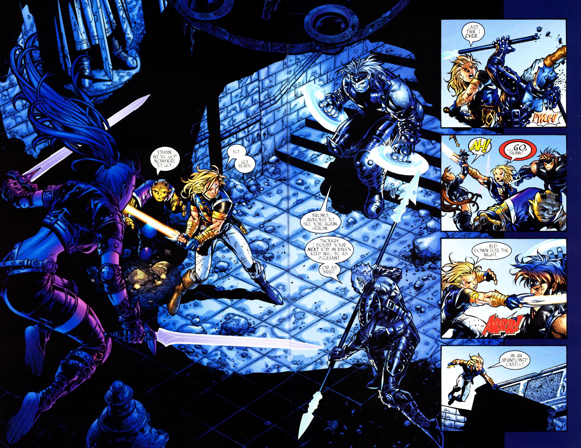 Read online Scion comic -  Issue #4 - 4