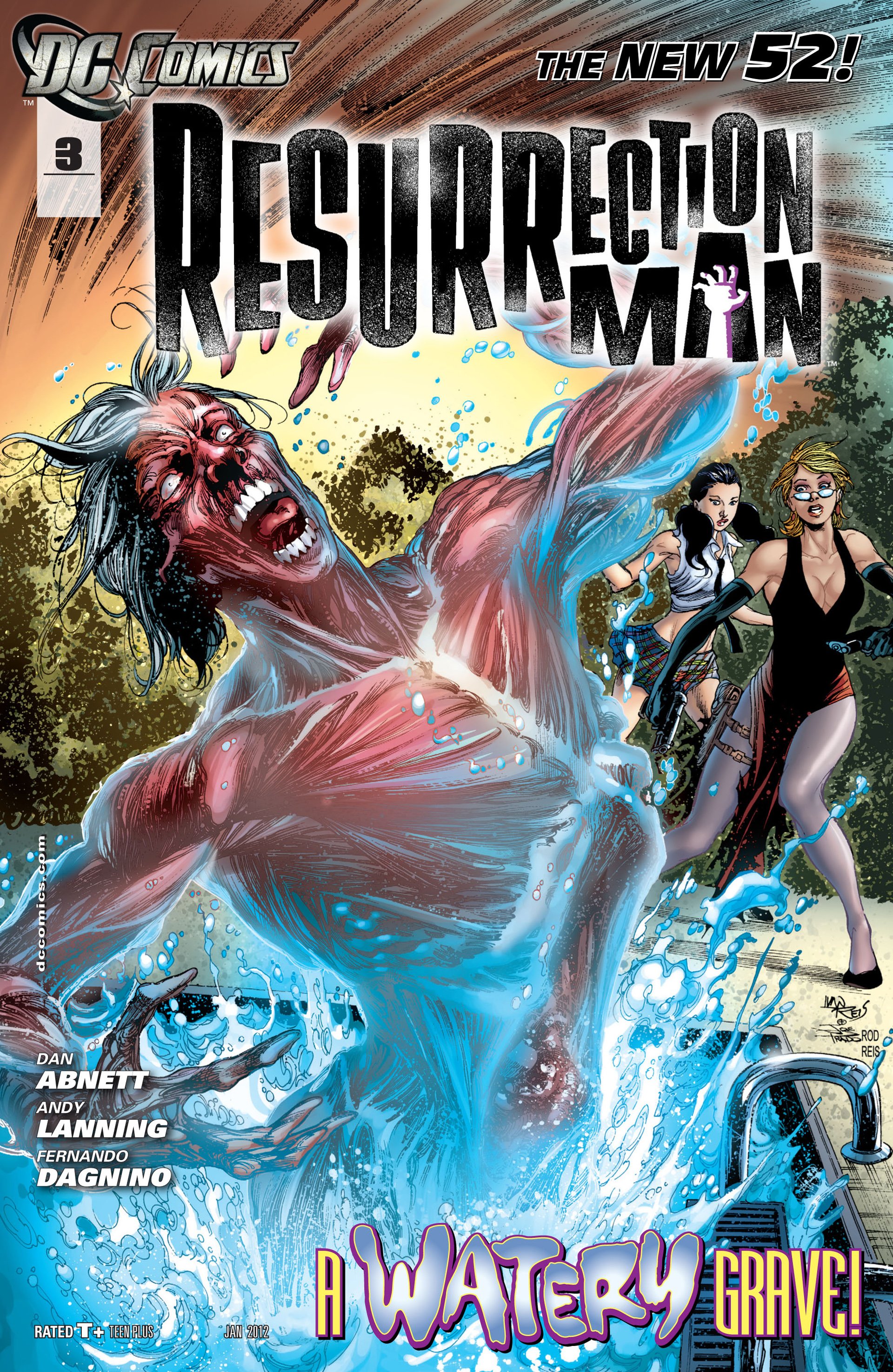 Resurrection Man (2011) issue 3 - Page 1