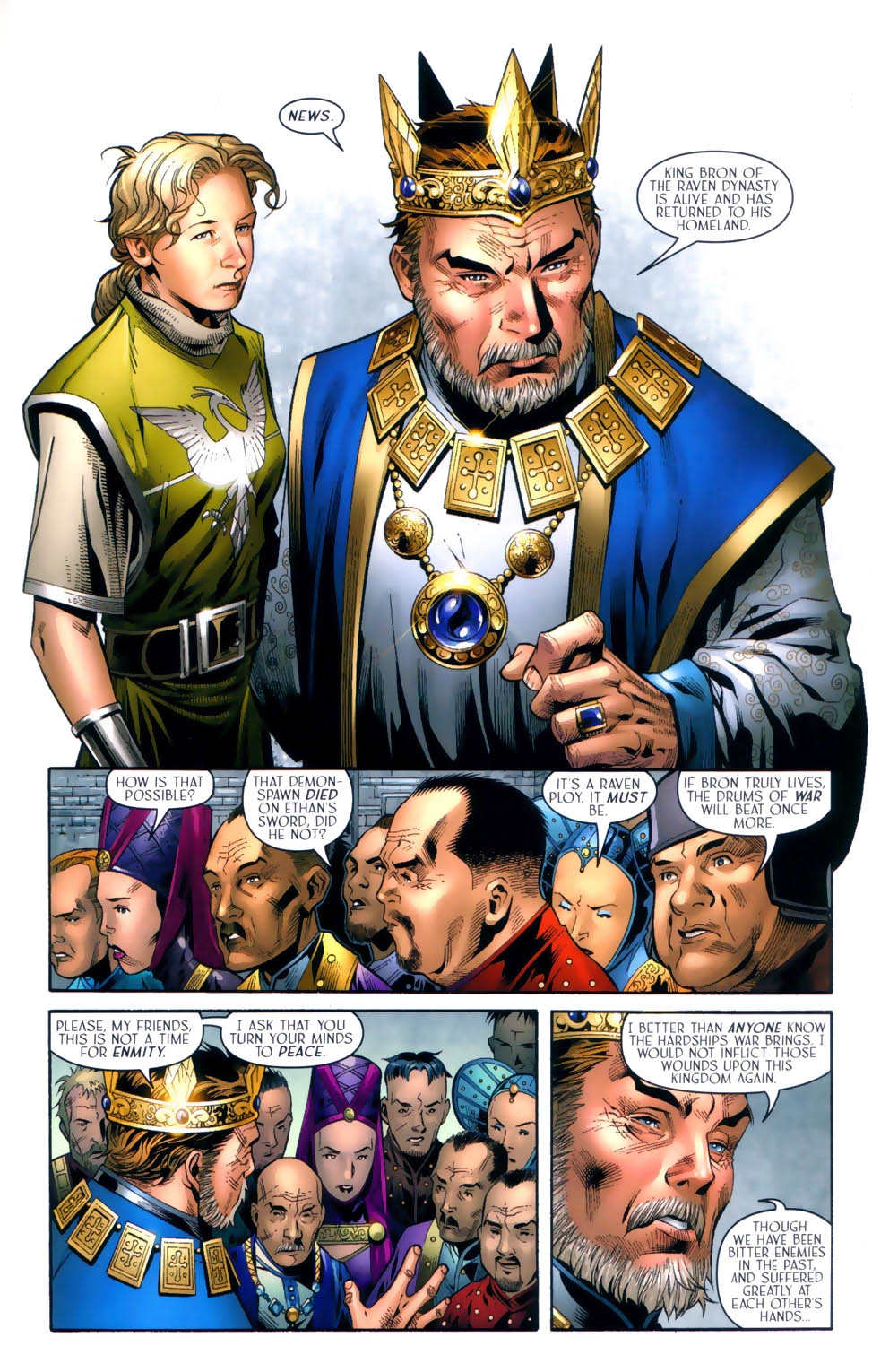 Read online Scion comic -  Issue #31 - 22