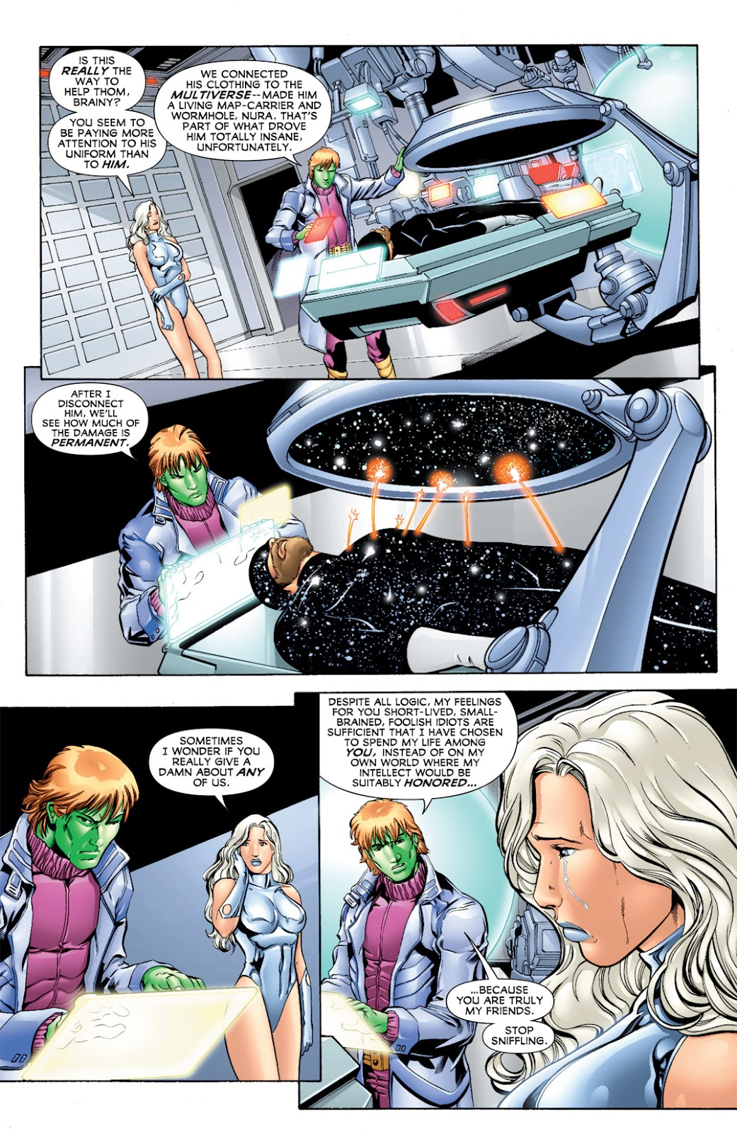 Legion of Super-Heroes (2010) Issue #11 #12 - English 20