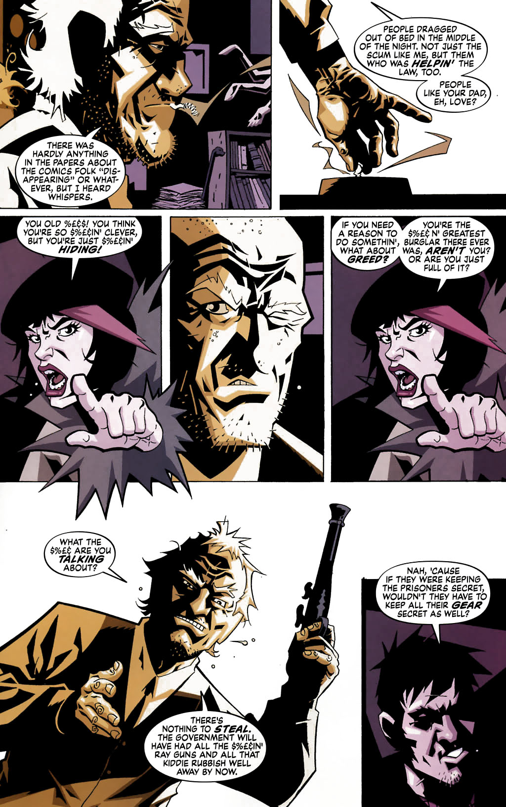 Read online Albion comic -  Issue #4 - 11