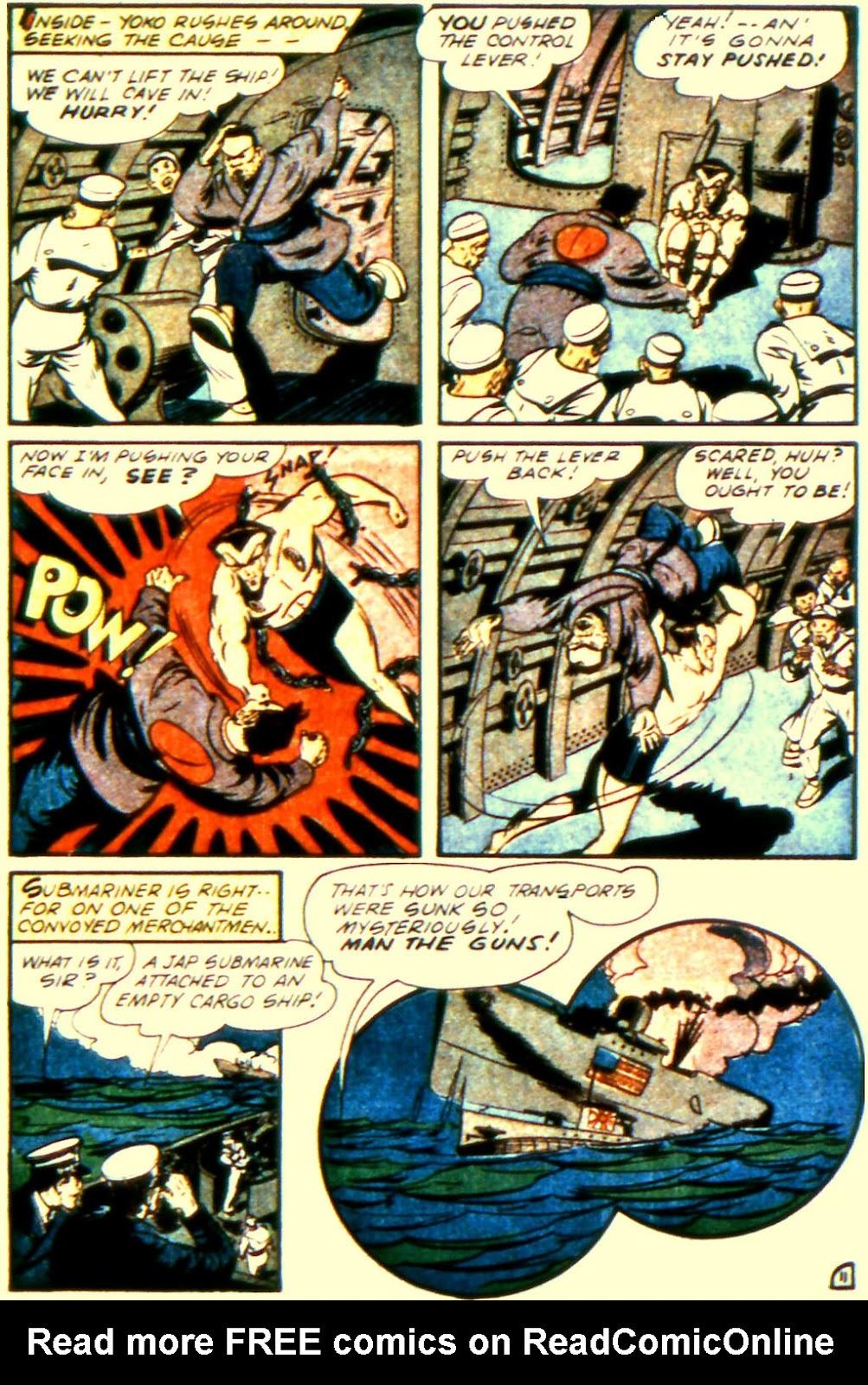 Sub-Mariner Comics Issue #11 #11 - English 13