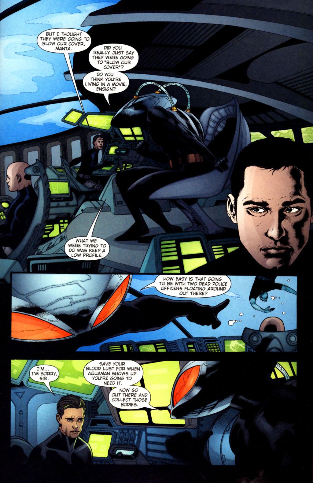 Read online Aquaman (2003) comic -  Issue #38 - 16