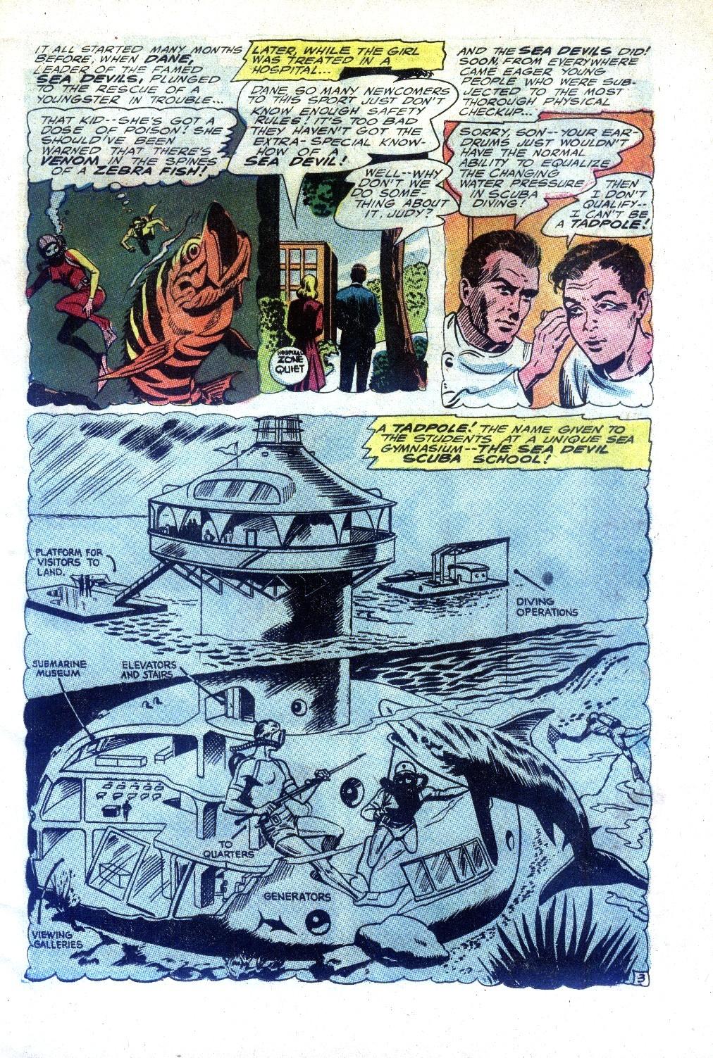 Read online Sea Devils comic -  Issue #27 - 6