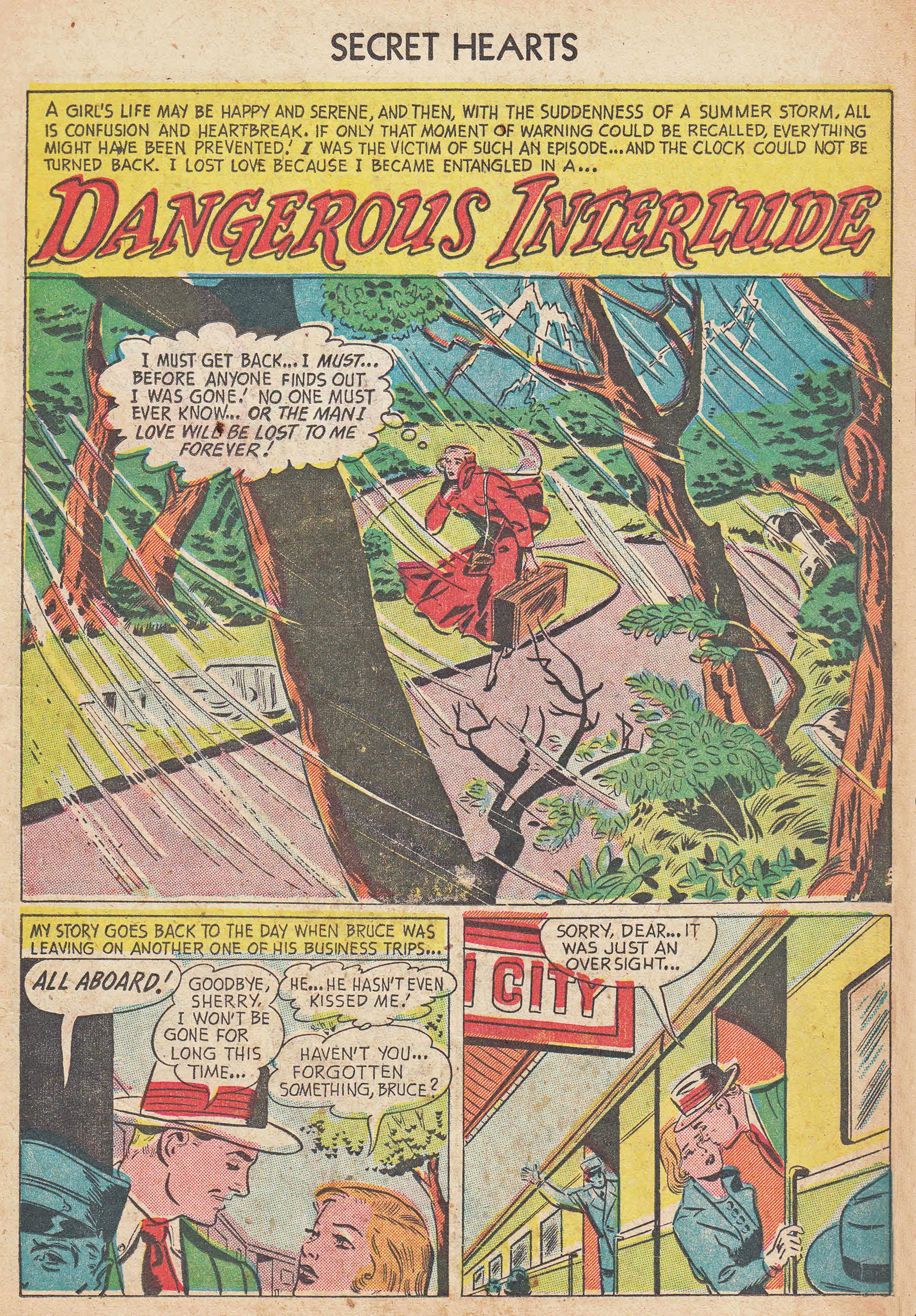 Read online Secret Hearts comic -  Issue #7 - 11