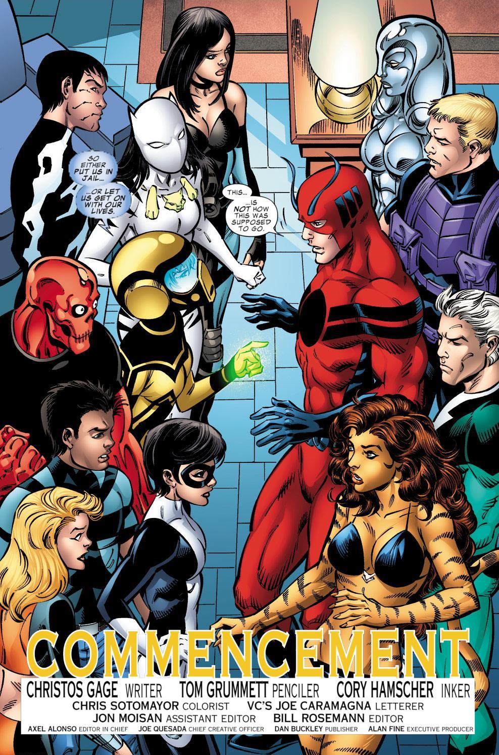 Avengers Academy Issue #39 #40 - English 4