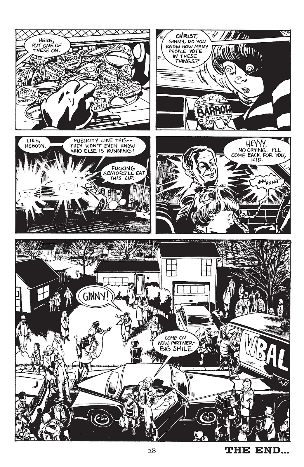 Stray Bullets Issue #4 #4 - English 30
